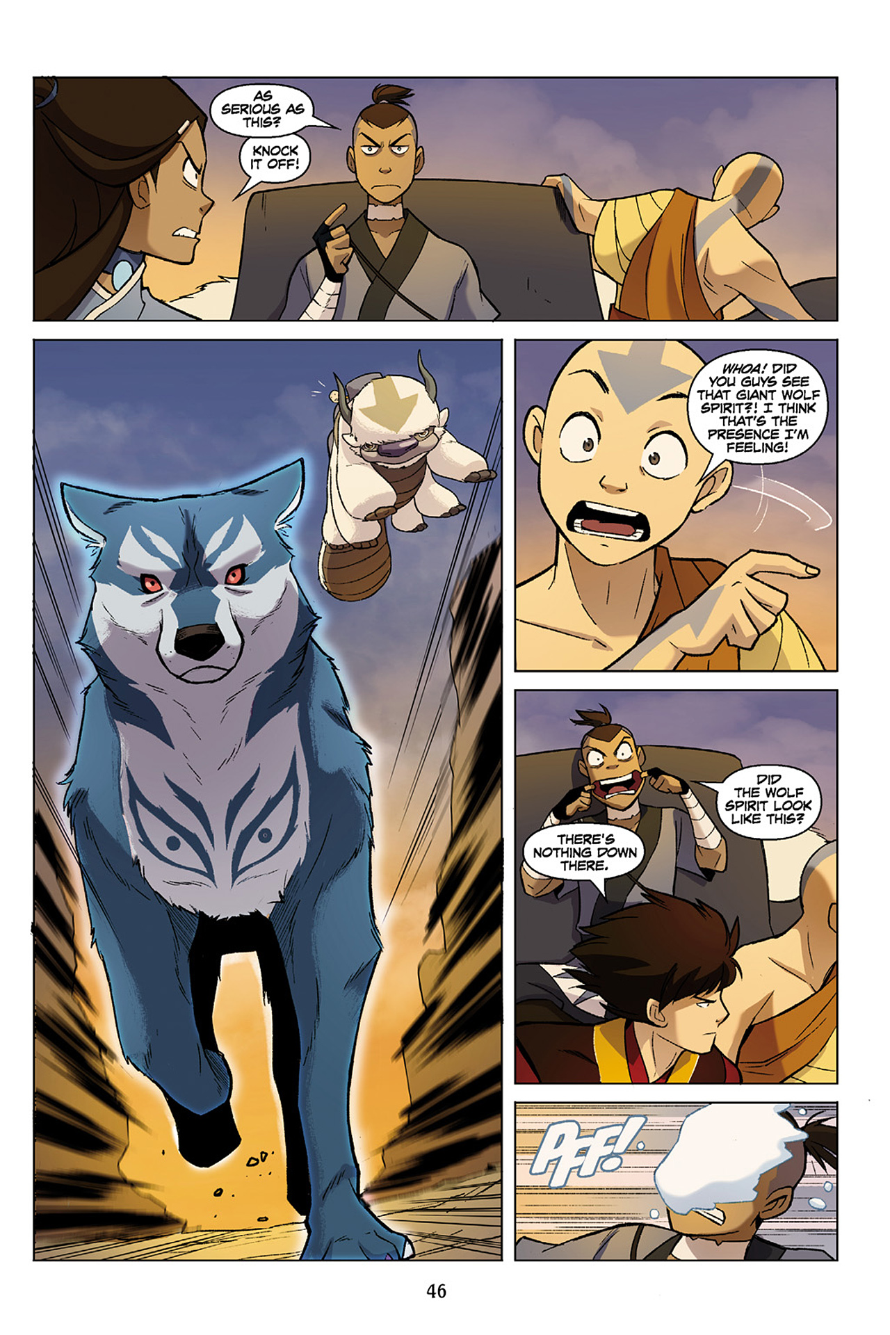 Read online Nickelodeon Avatar: The Last Airbender - The Search comic -  Issue # Part 1 - 47