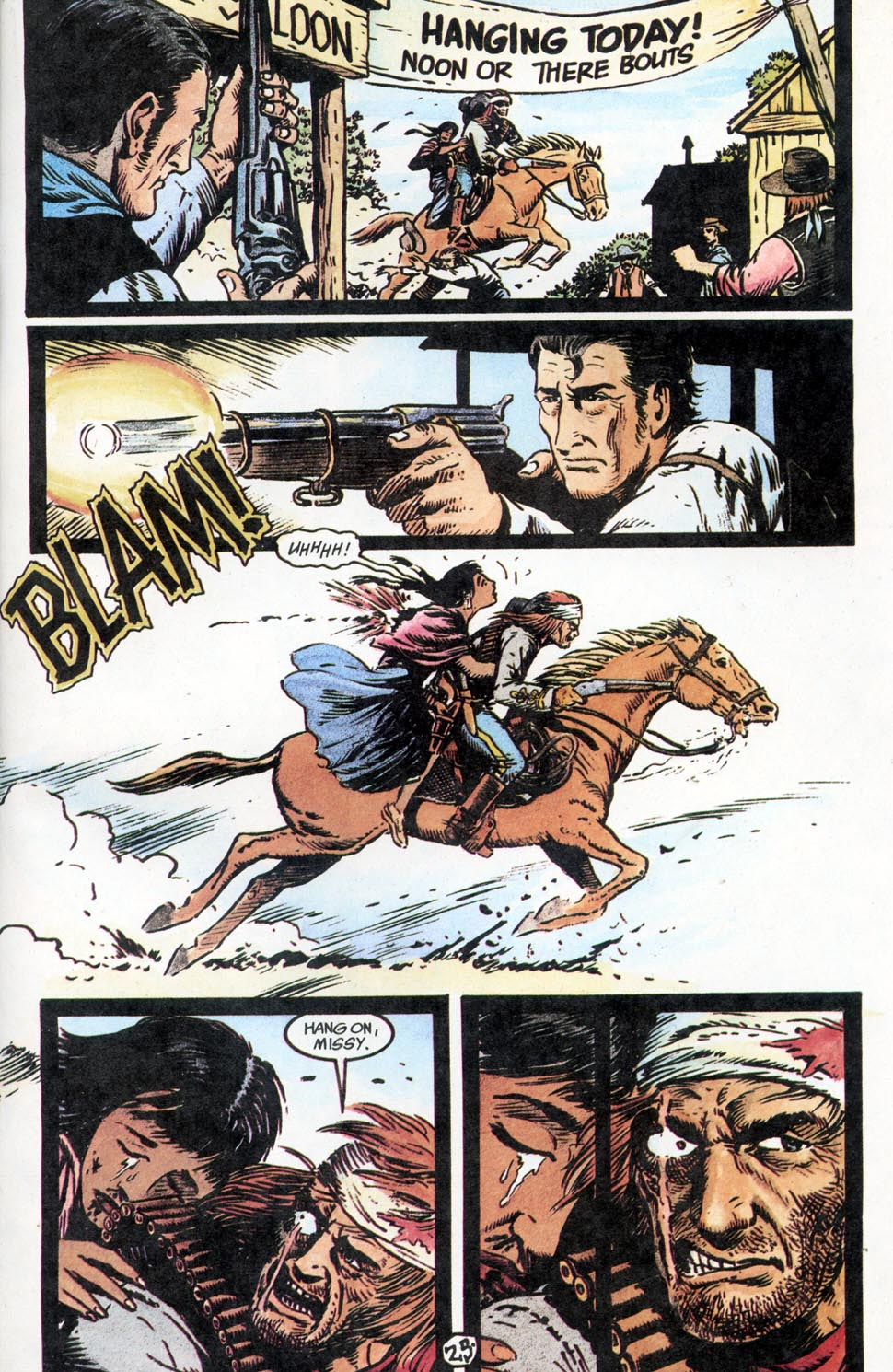 Jonah Hex: Two-Gun Mojo Issue #2 #2 - English 27