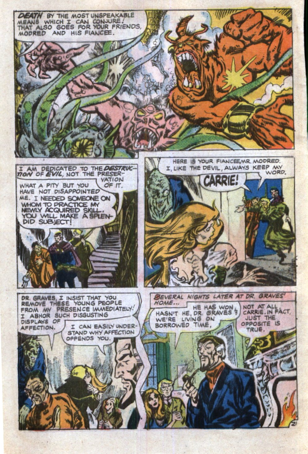 Read online Scary Tales comic -  Issue #29 - 28