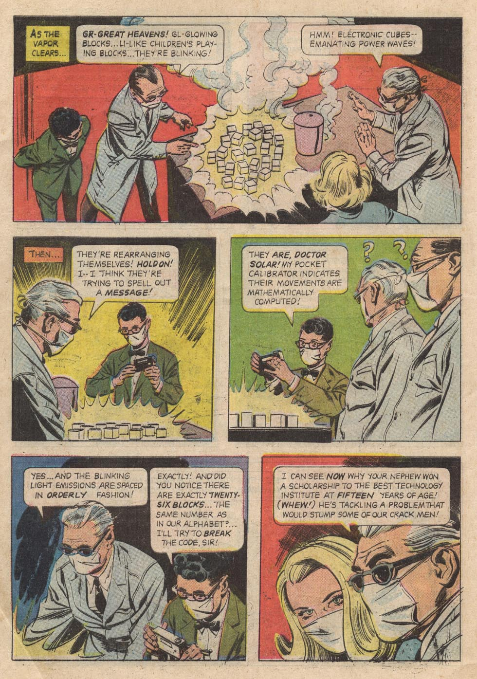 Doctor Solar, Man of the Atom (1962) 21 Page 7