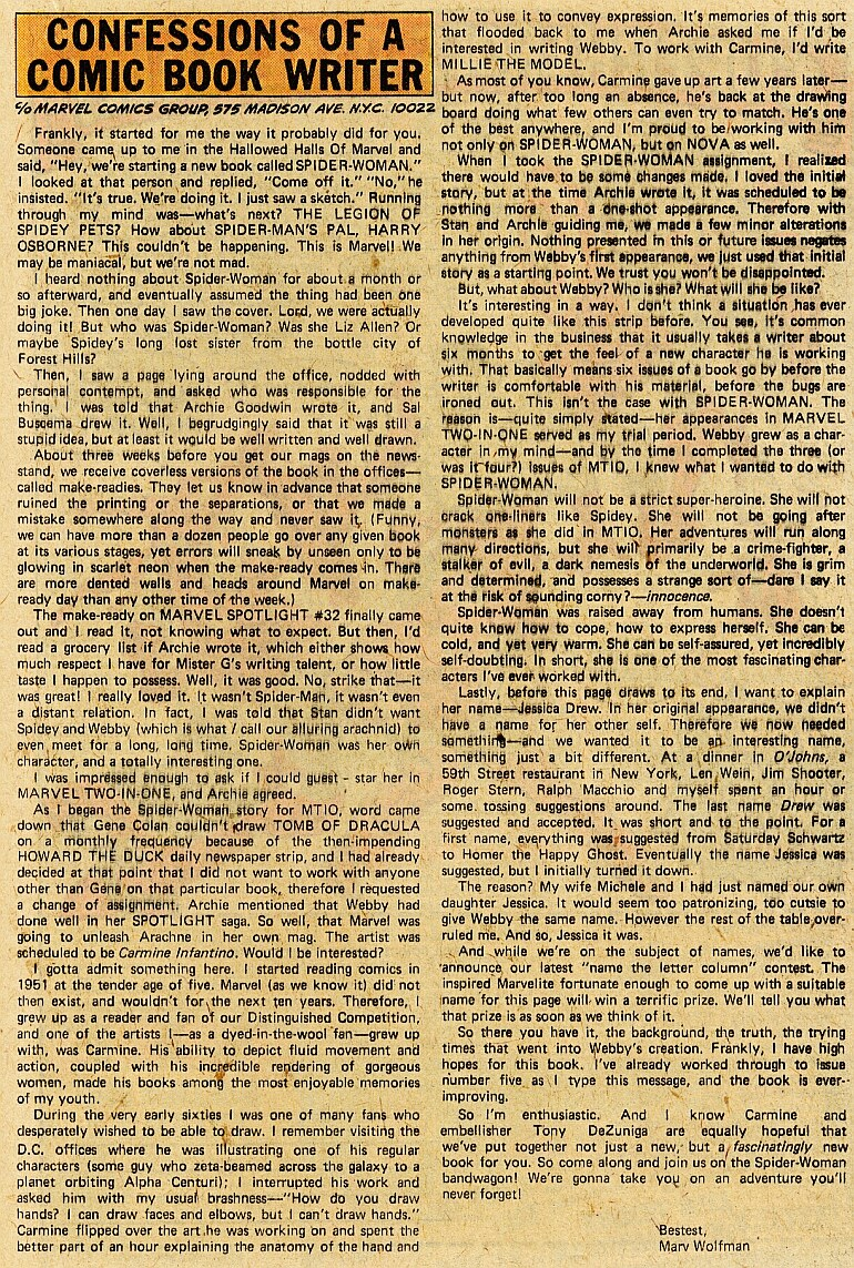 Spider-Woman (1978) #1 #50 - English 19
