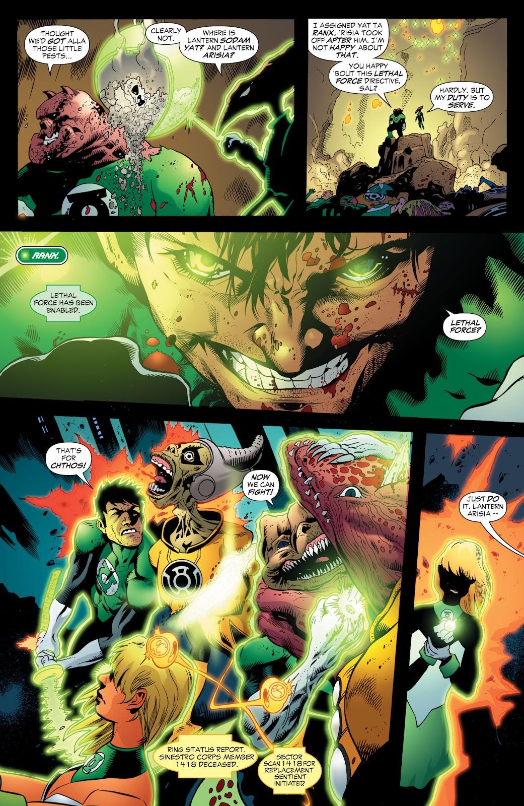 Green Lantern: The Sinestro Corps War Full #1 - English 174
