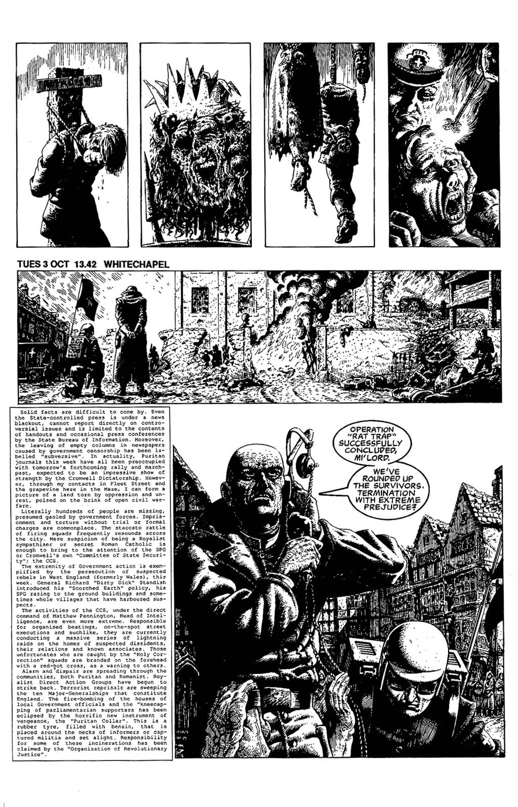 Read online The Adventures of Luther Arkwright comic -  Issue #5 - 6