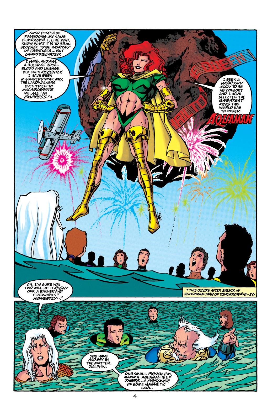 Aquaman (1994) Issue #41 #47 - English 5