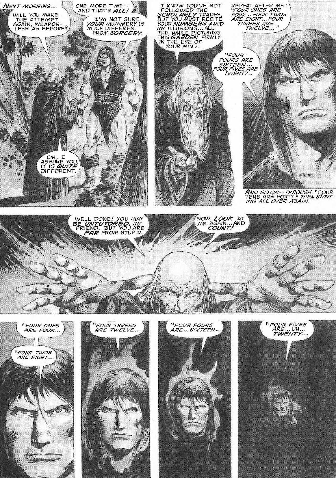 The Savage Sword Of Conan Issue #207 #208 - English 40