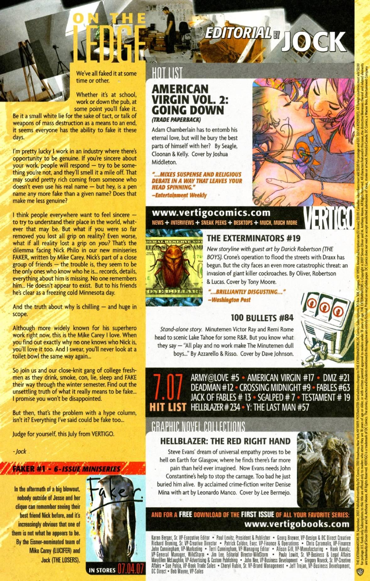 The Exterminators 19 Page 21
