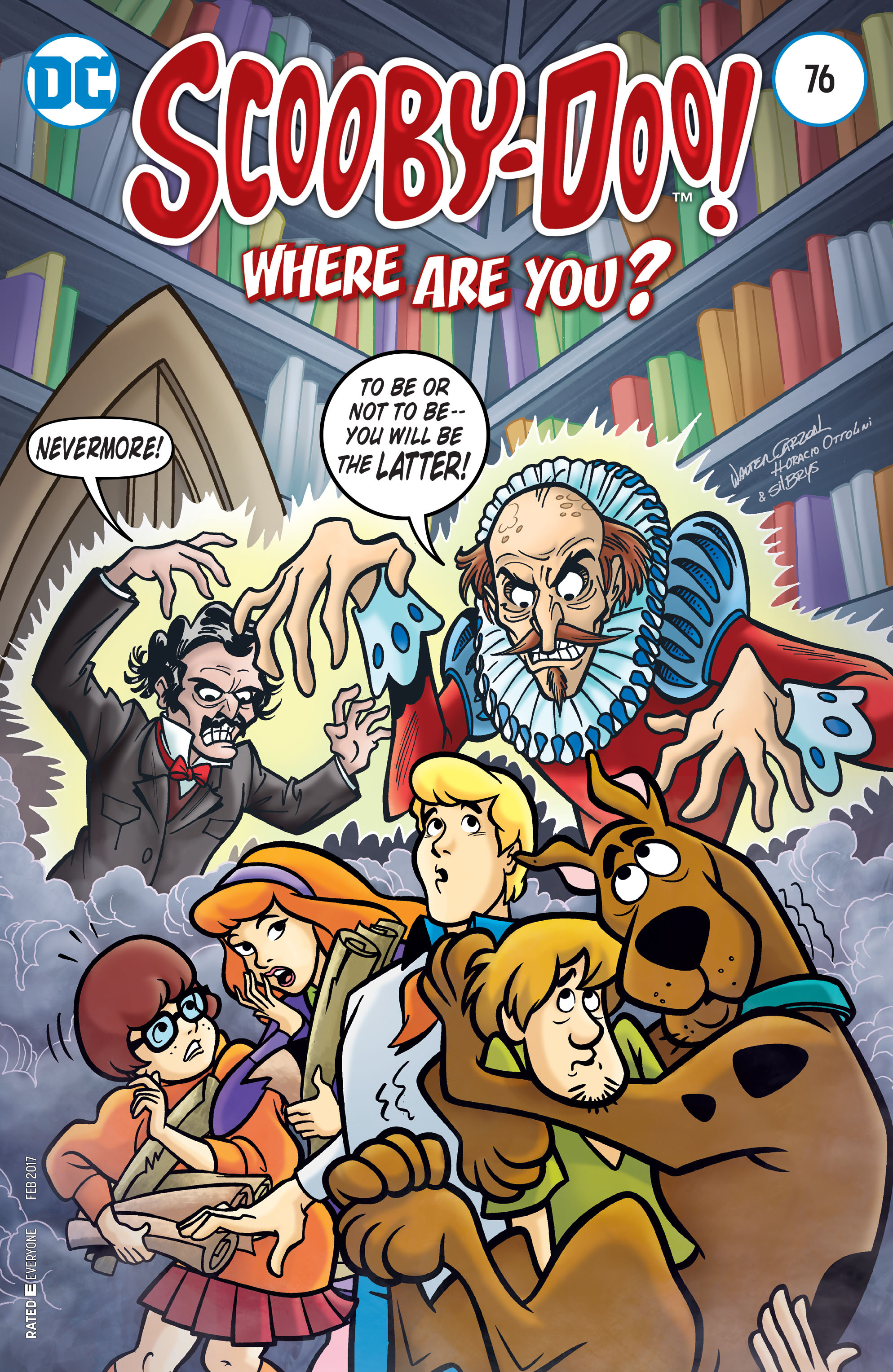 Read online Scooby-Doo: Where Are You? comic -  Issue #76 - 1