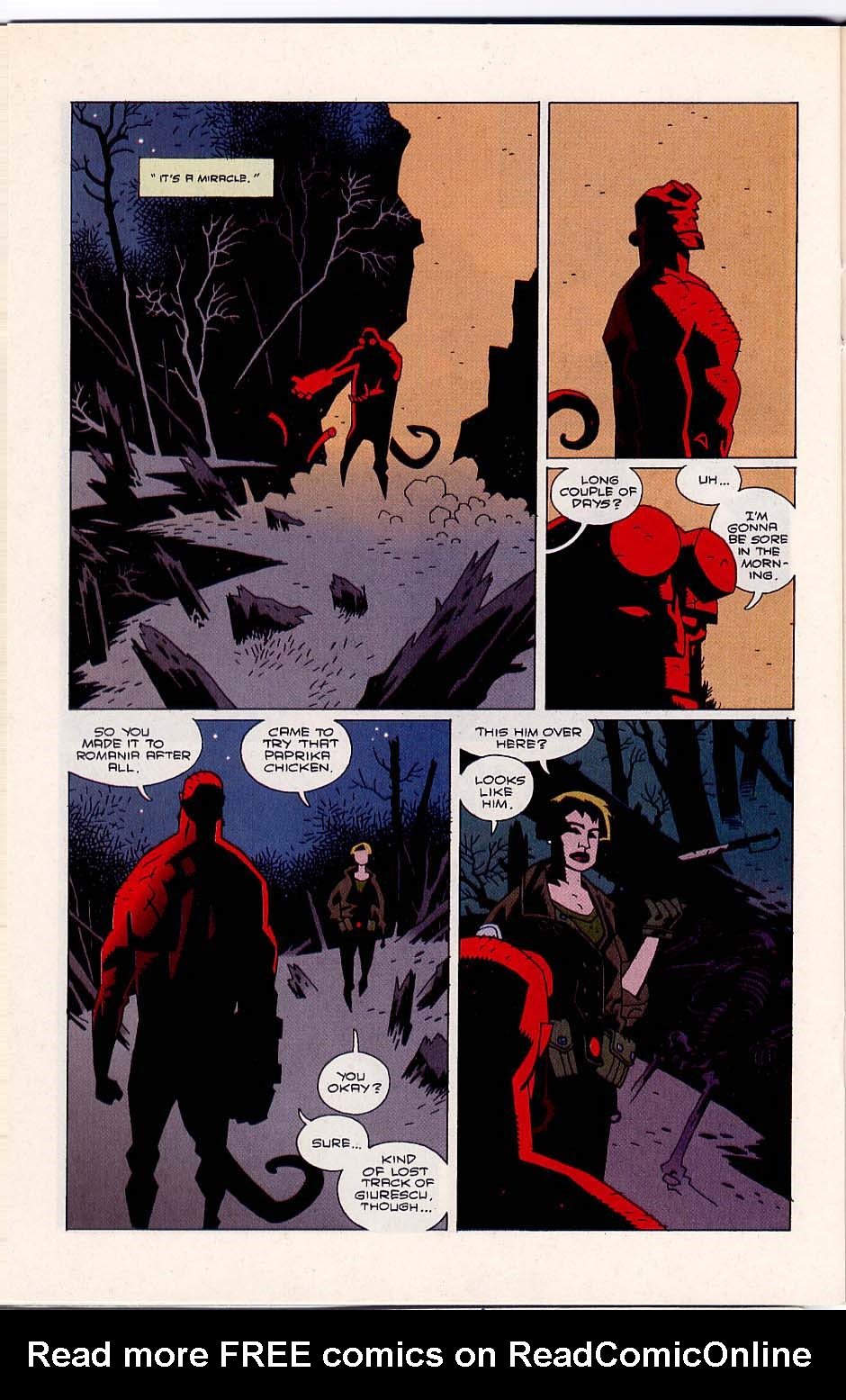 Hellboy: Wake the Devil Issue #5 #5 - English 22