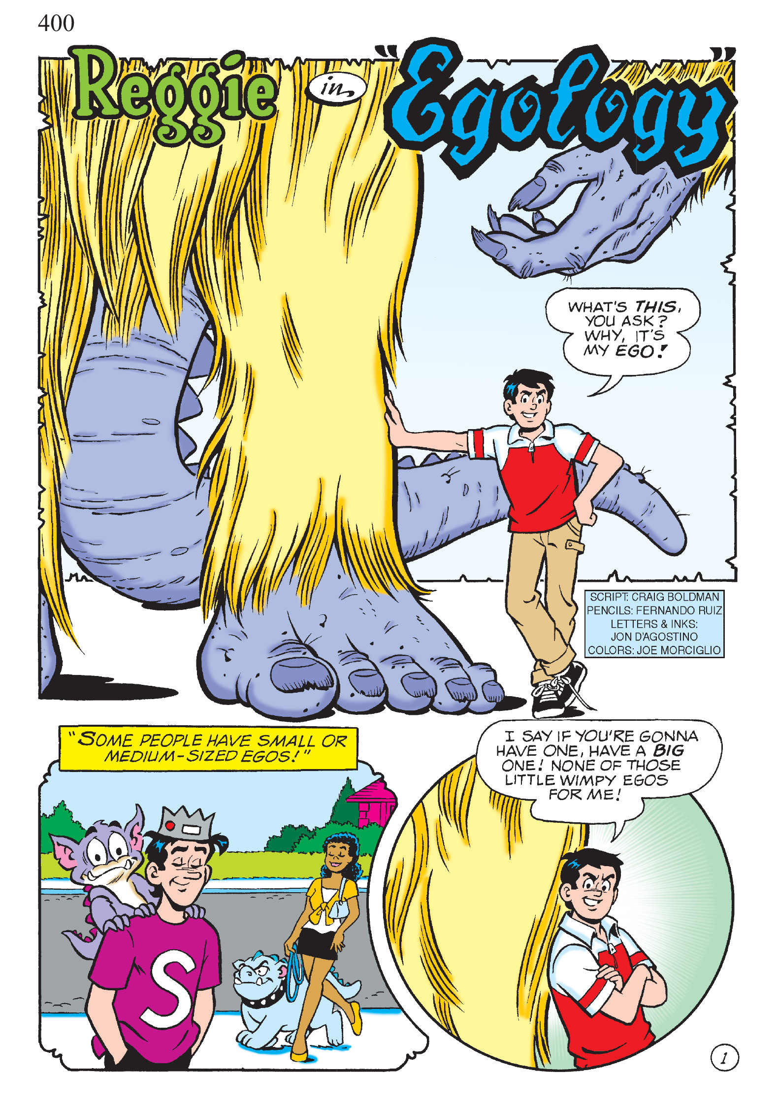 Read online The Best of Archie Comics comic -  Issue # TPB 1 (Part 2) - 169