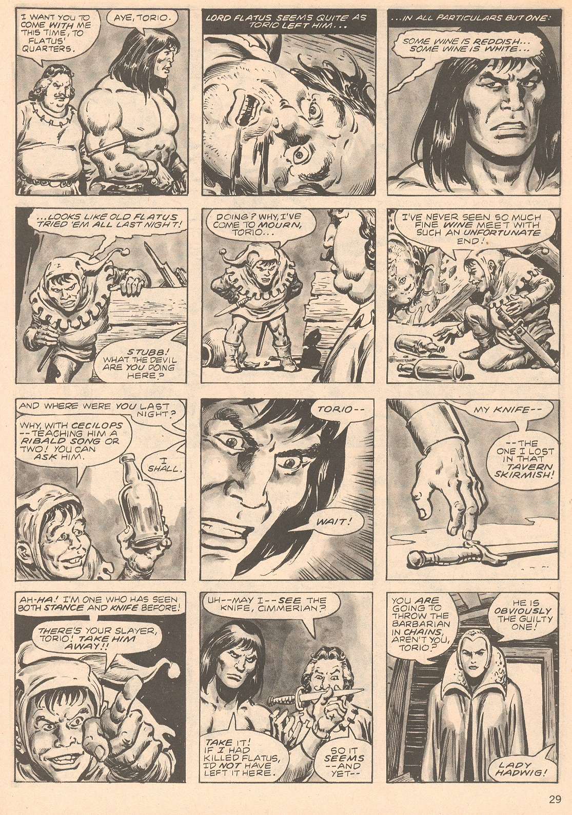 The Savage Sword Of Conan Issue #66 #67 - English 29