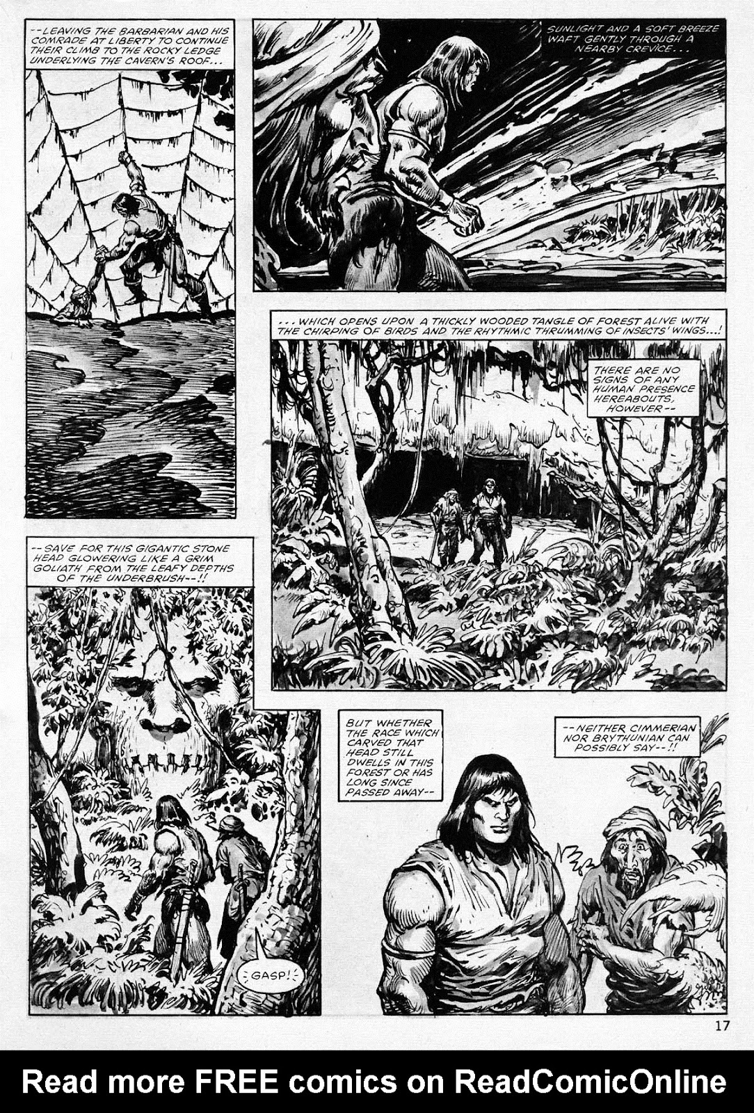 The Savage Sword Of Conan Issue #77 #78 - English 17