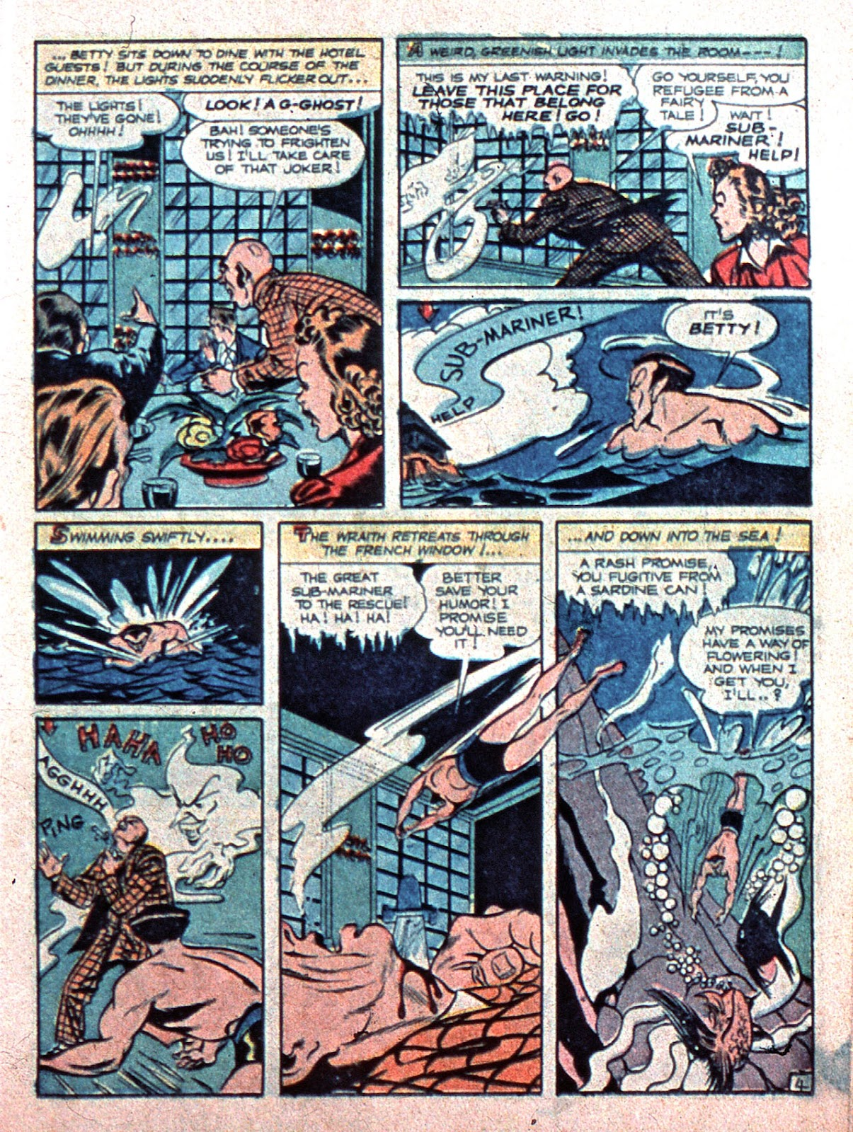 Sub-Mariner Comics Issue #15 #15 - English 19