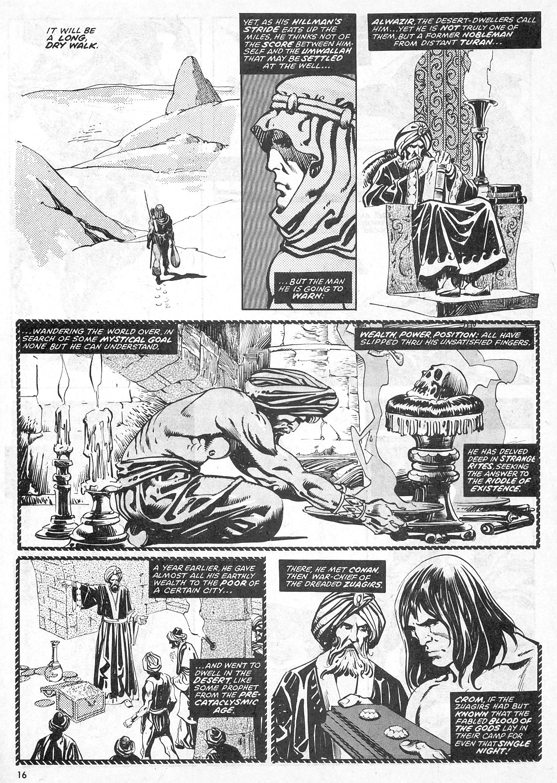 The Savage Sword Of Conan Issue #28 #29 - English 16