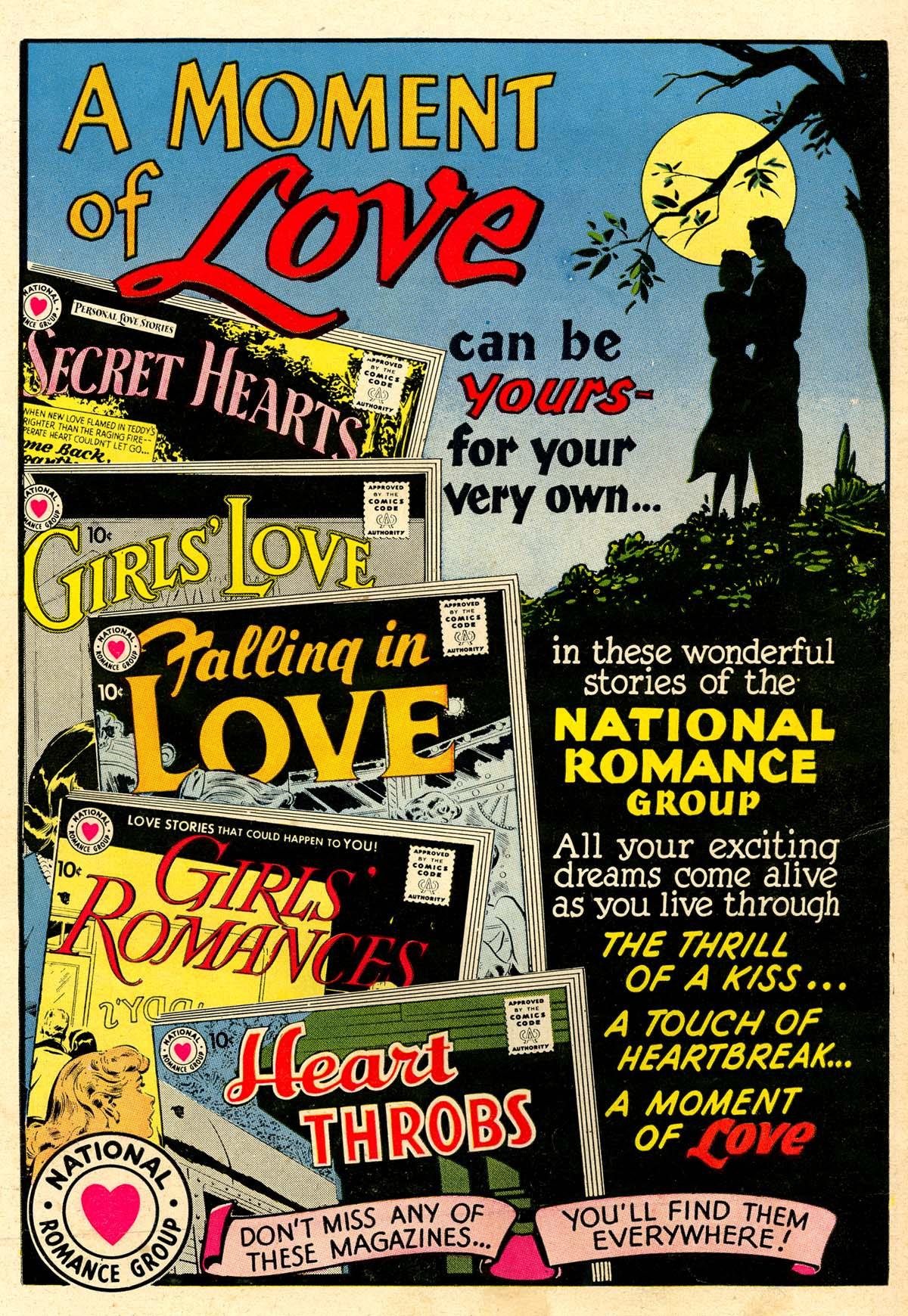 Read online Secret Hearts comic -  Issue #59 - 36