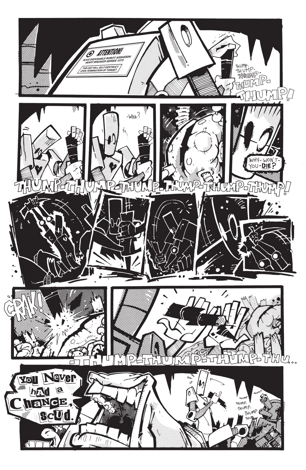 Read online Scud: The Disposable Assassin: The Whole Shebang comic -  Issue # TPB (Part 4) - 95