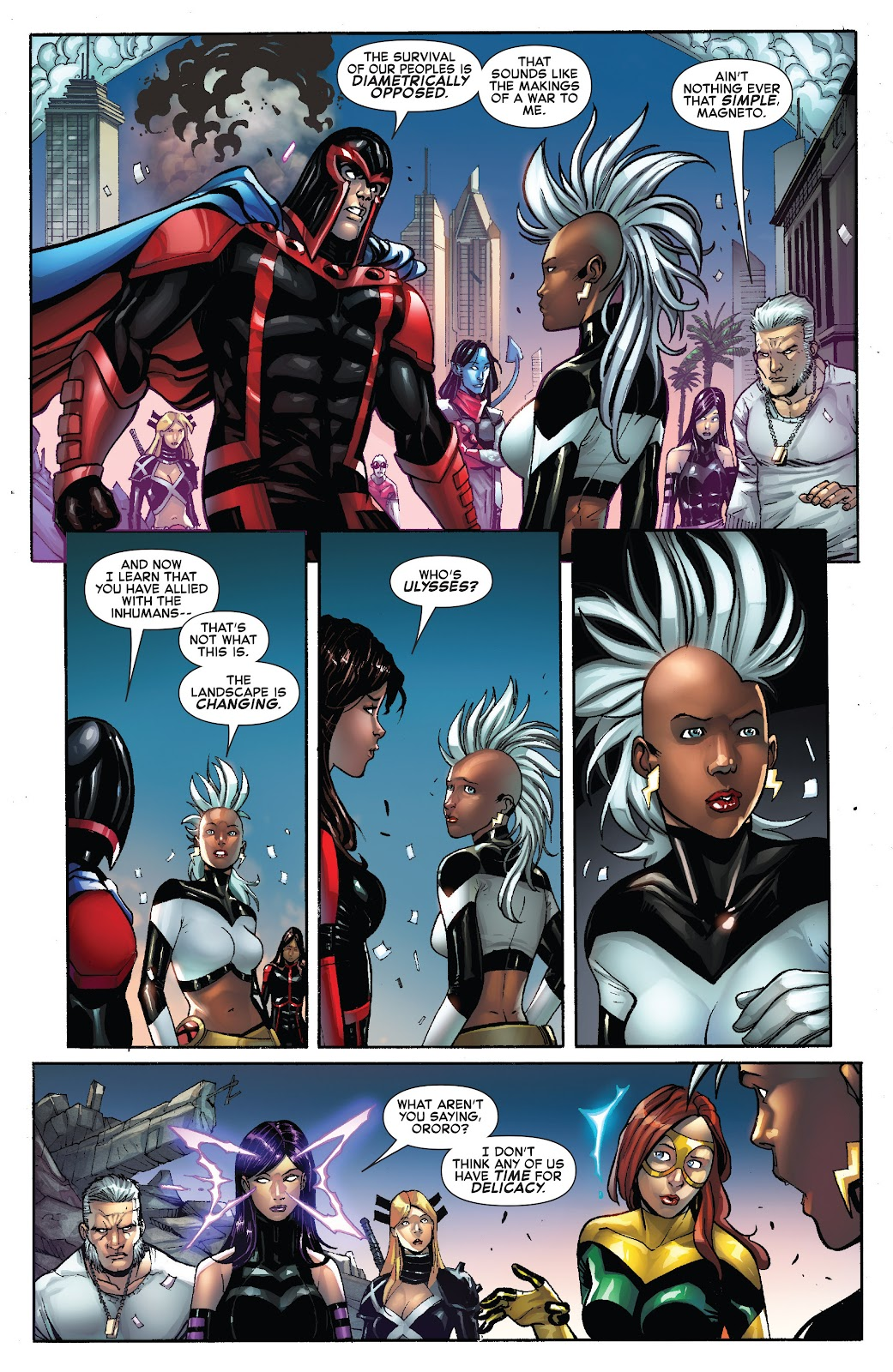 Civil War II: X-Men Issue #1 #1 - English 21