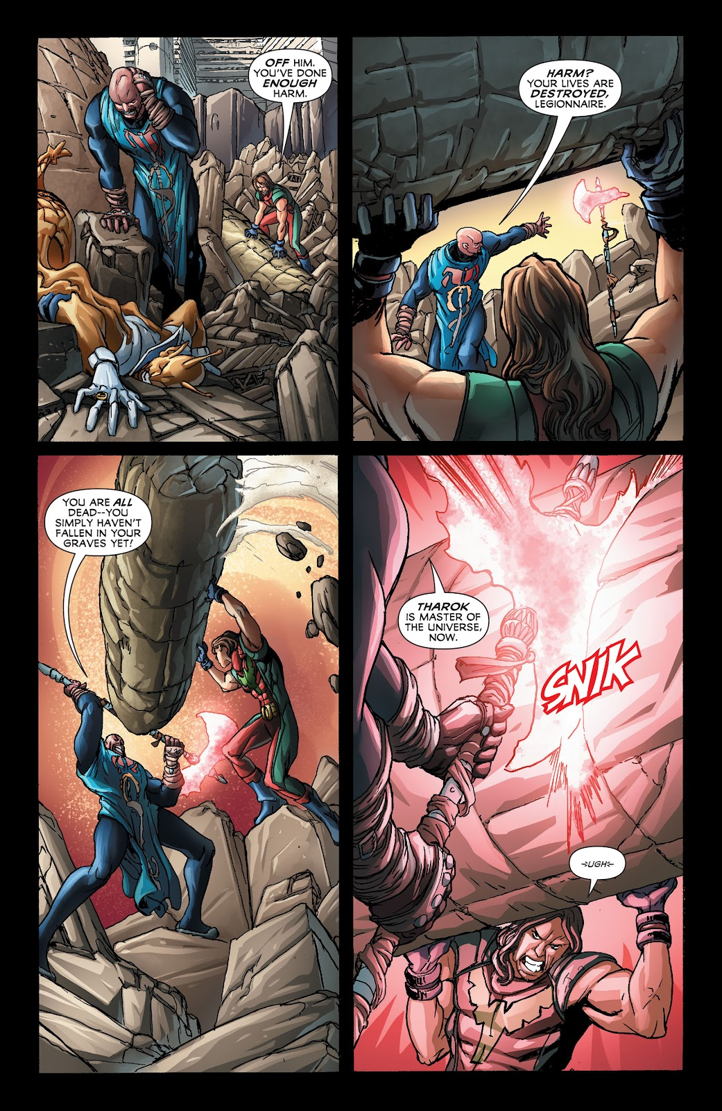 Legion of Super-Heroes (2011) Issue #21 #22 - English 6