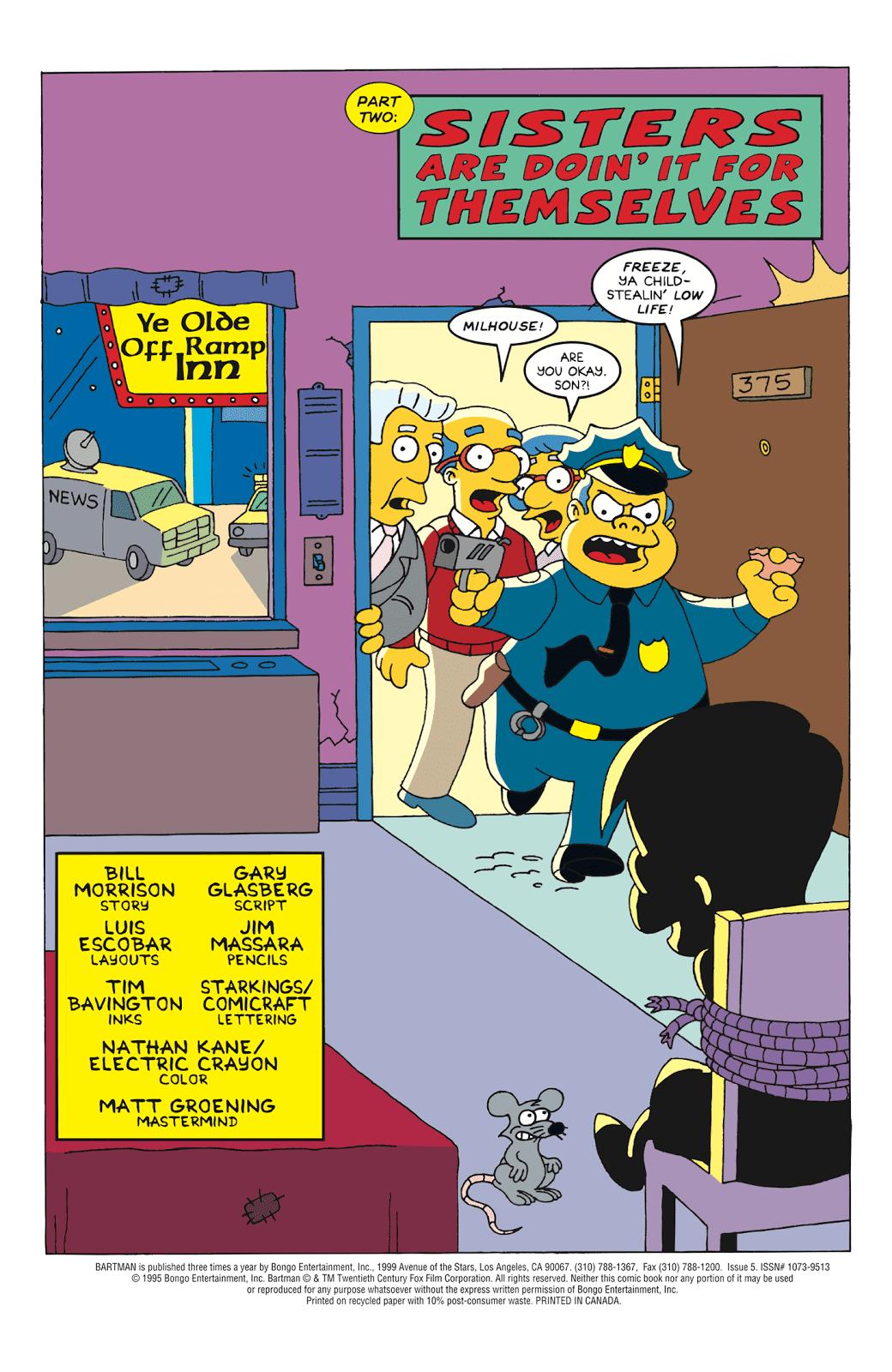 Read online Bartman comic -  Issue #5 - 2