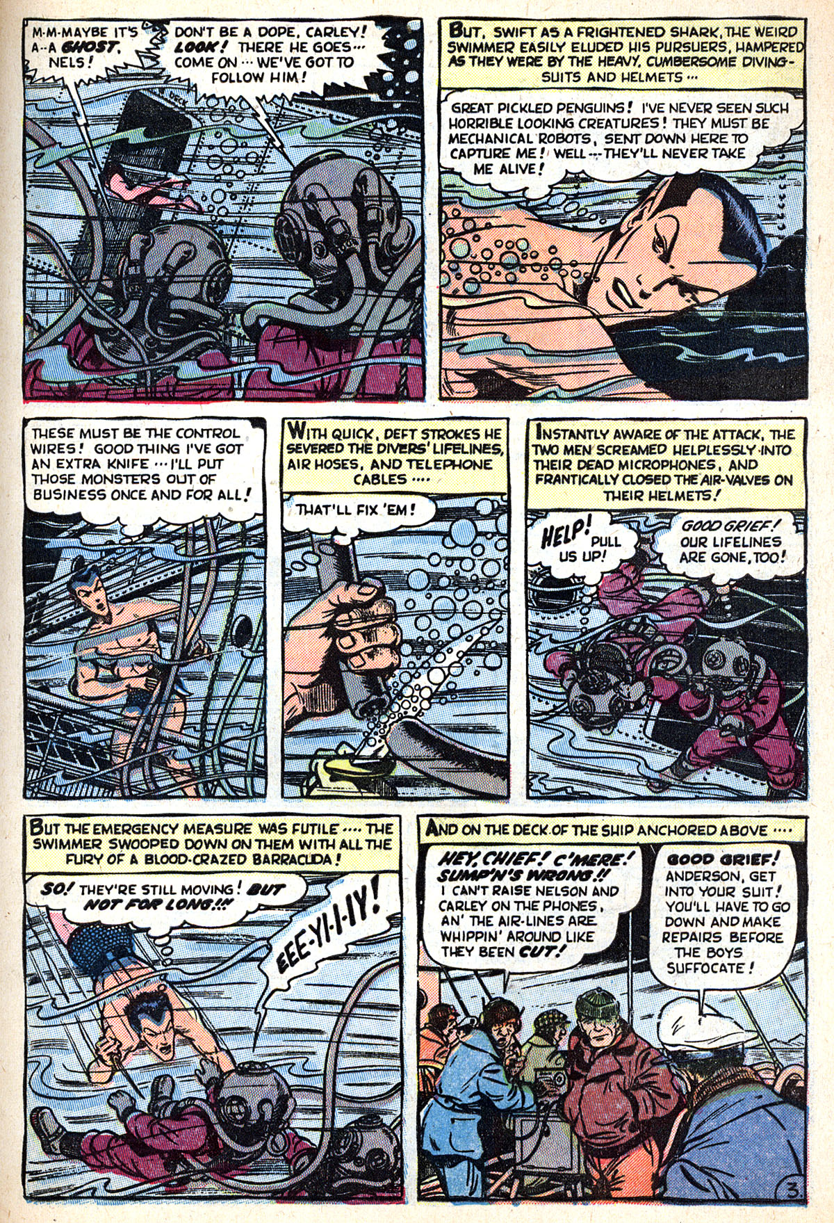 Sub-Mariner Comics #33 #33 - English 5