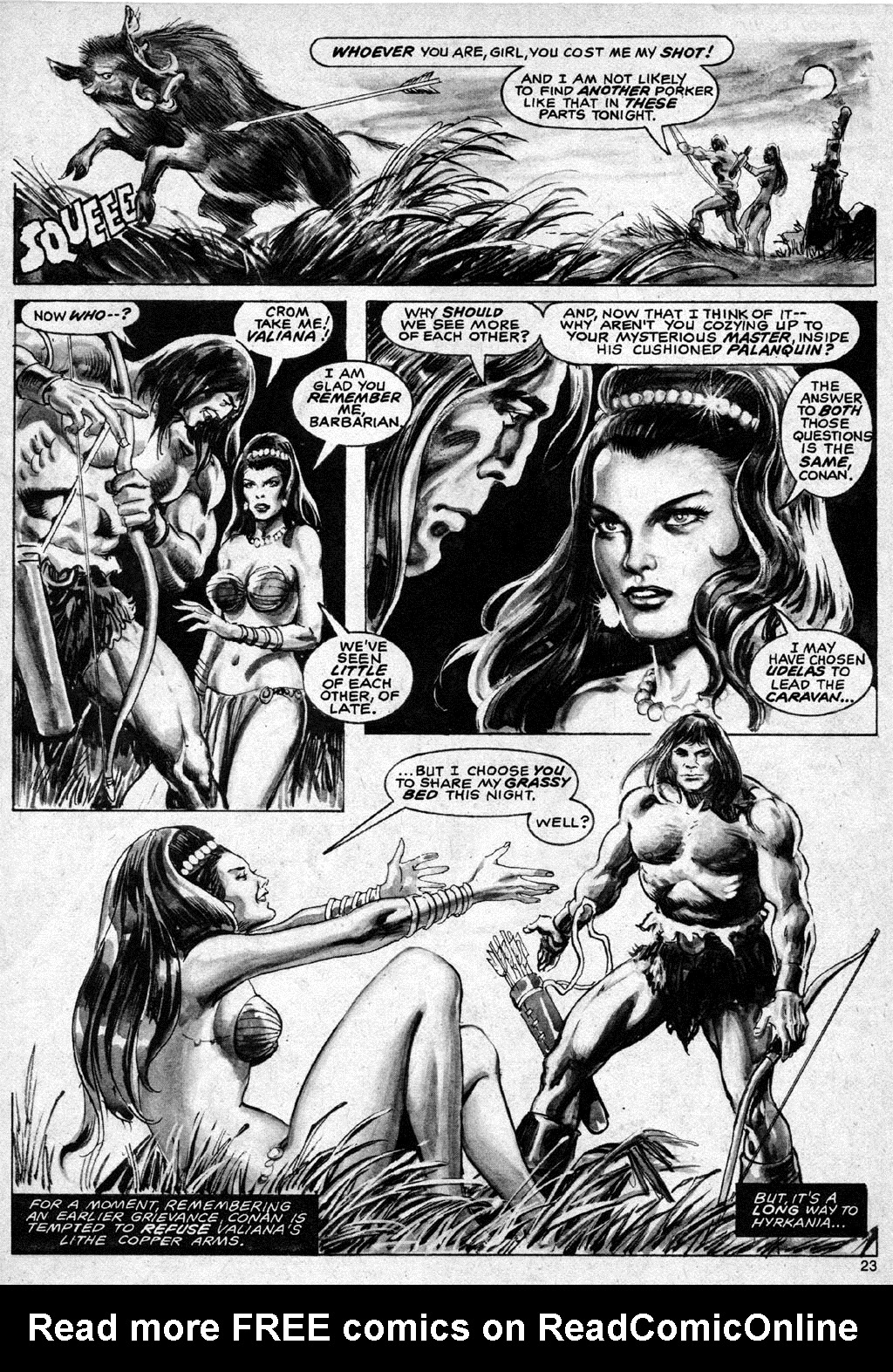 The Savage Sword Of Conan Issue #69 #70 - English 23