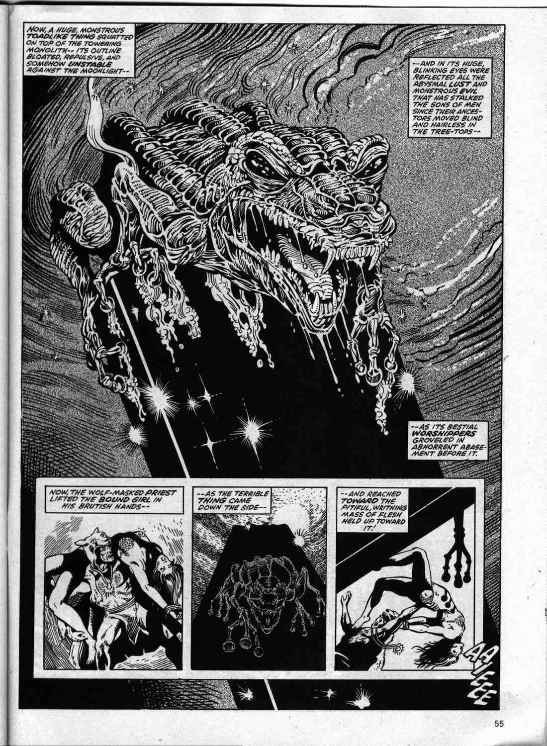 The Savage Sword Of Conan Issue #74 #75 - English 53