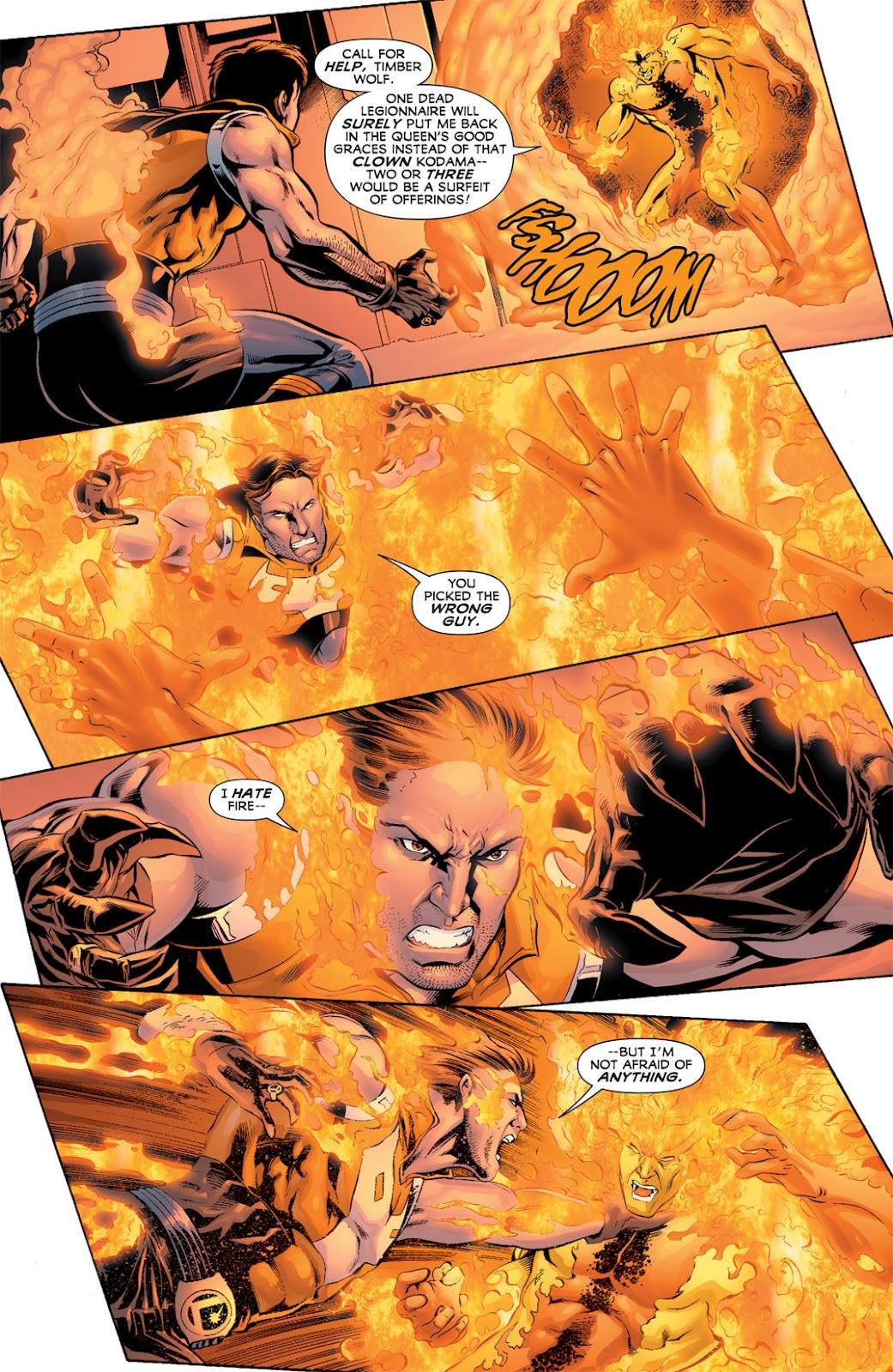 Legion of Super-Heroes (2010) Issue #11 #12 - English 15