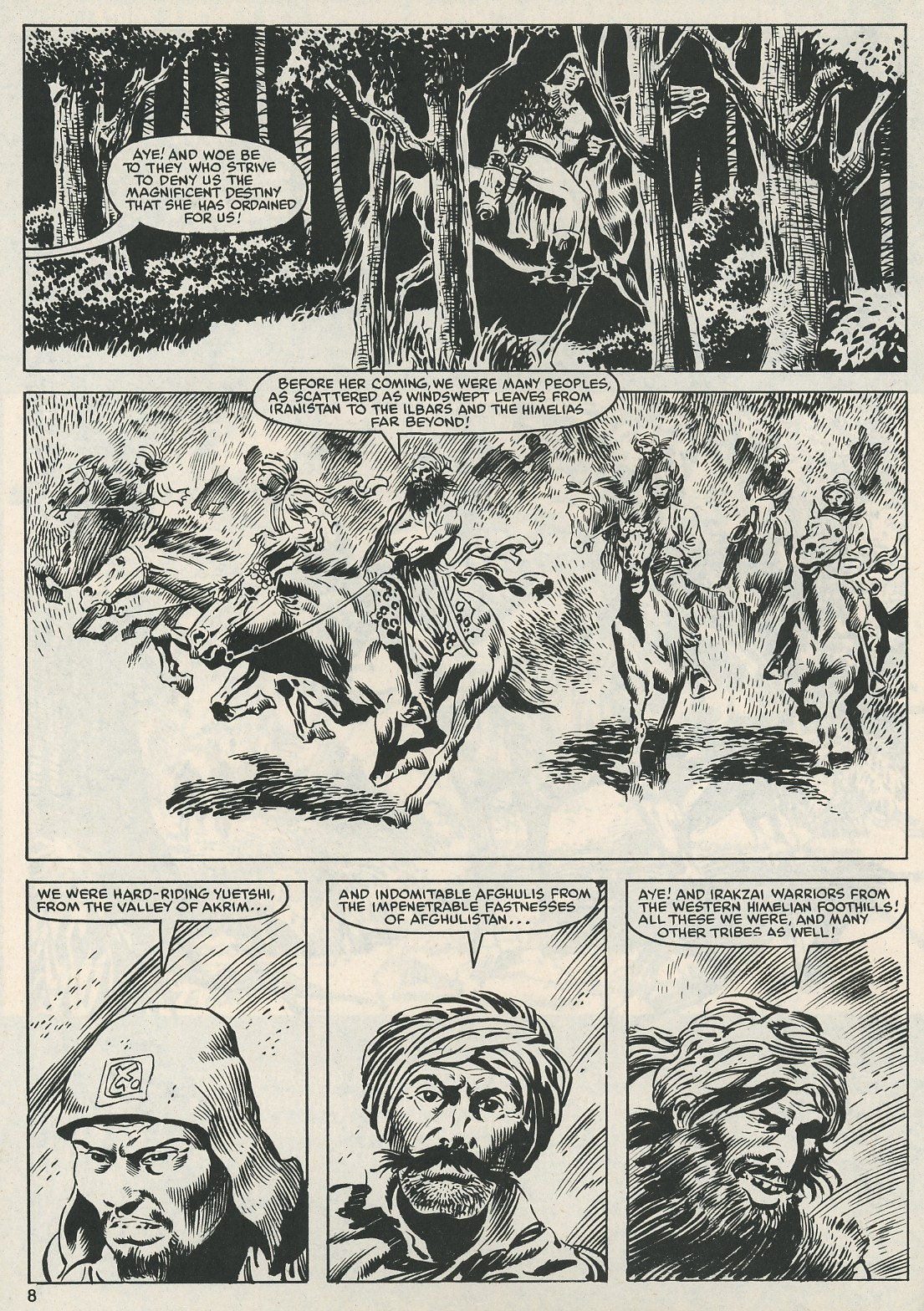 The Savage Sword Of Conan Issue #112 #113 - English 8