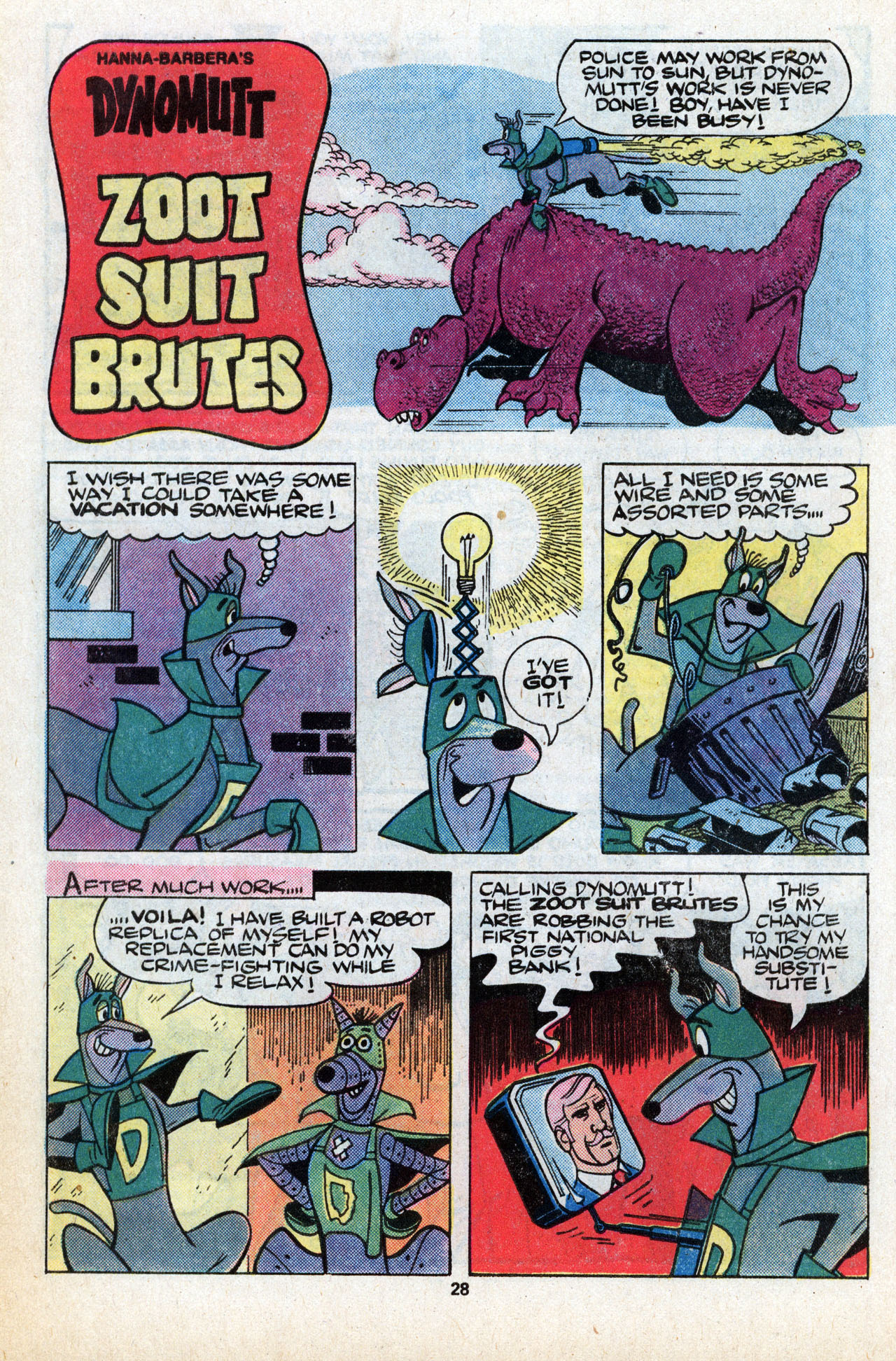 Read online Scooby-Doo (1977) comic -  Issue #6 - 29
