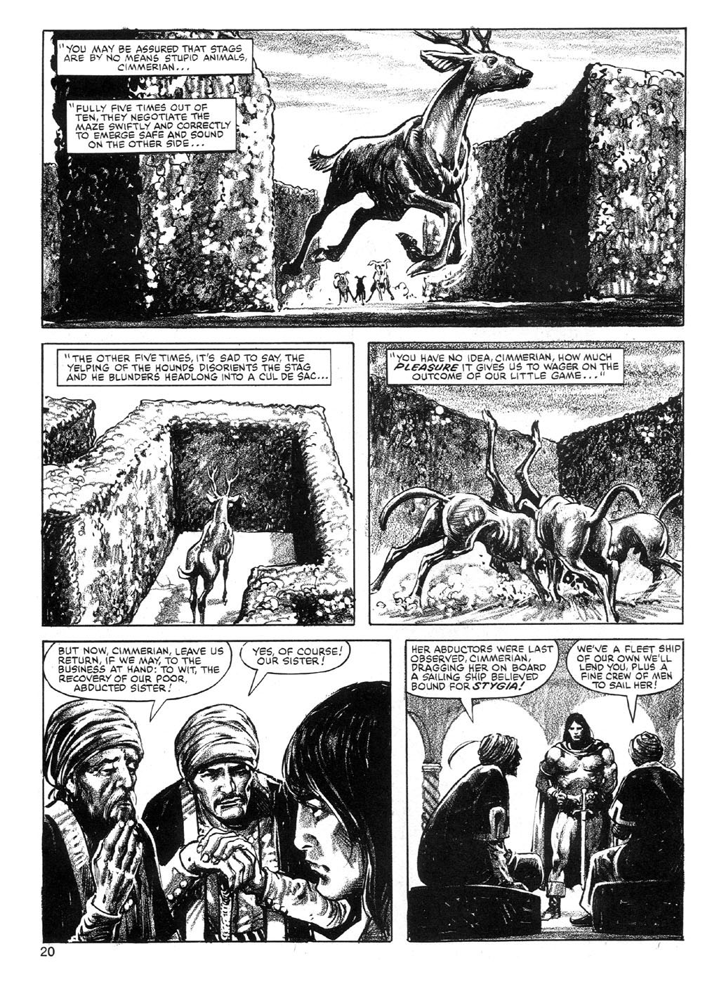 The Savage Sword Of Conan Issue #89 #90 - English 20