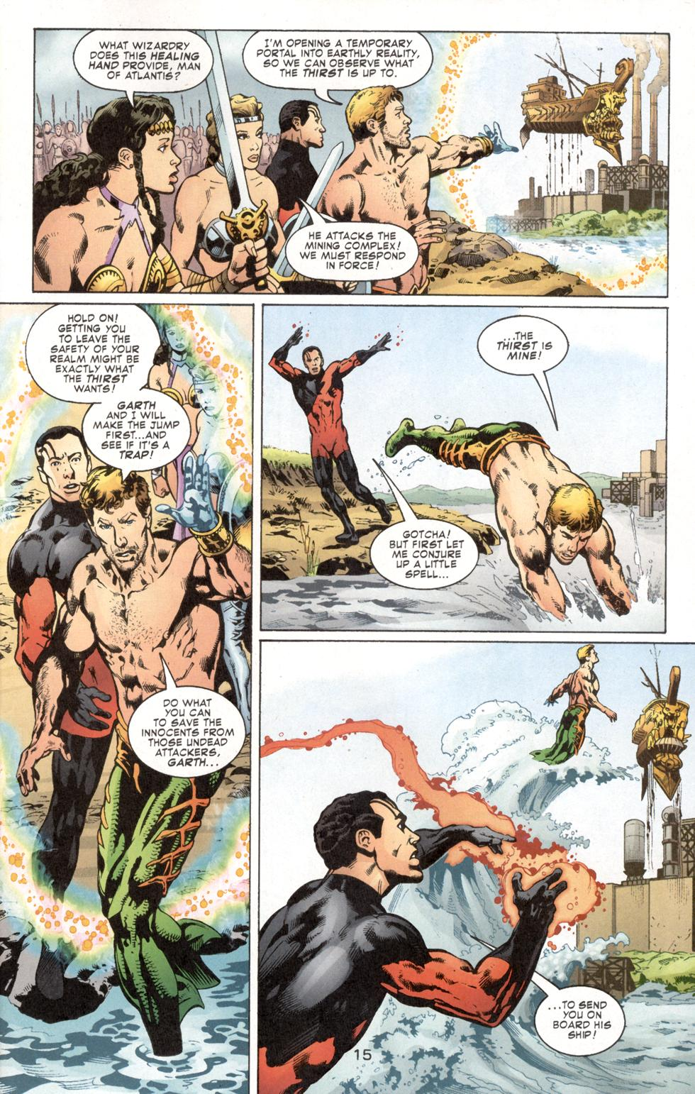 Aquaman (2003) Issue #7 #7 - English 17