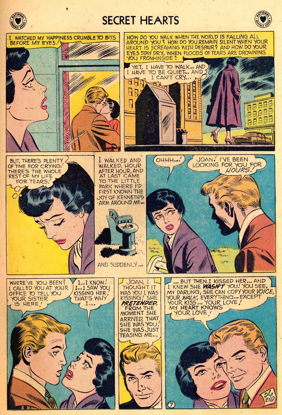Read online Secret Hearts comic -  Issue #52 - 25