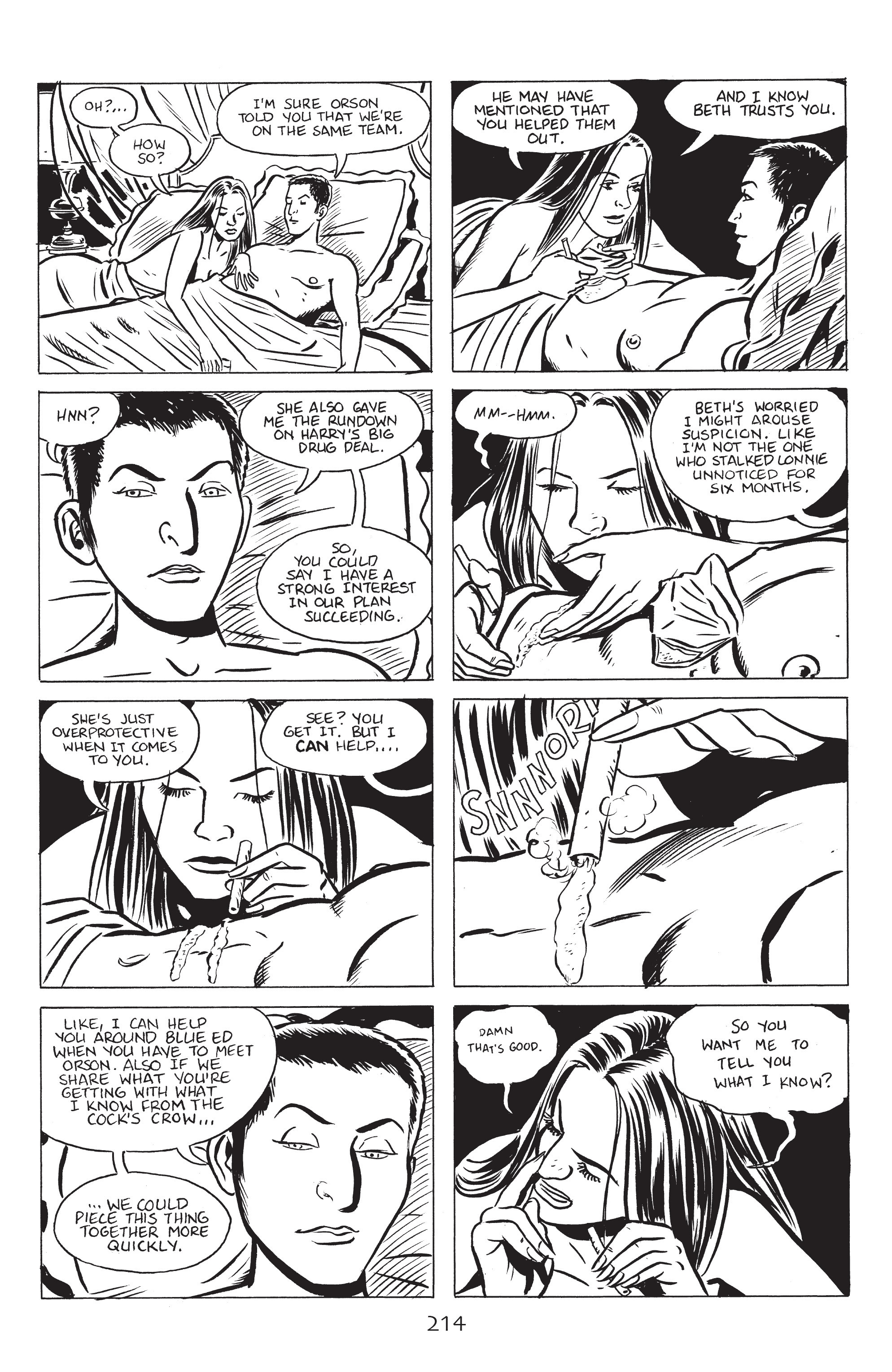 Read online Stray Bullets: Sunshine & Roses comic -  Issue #8 - 20