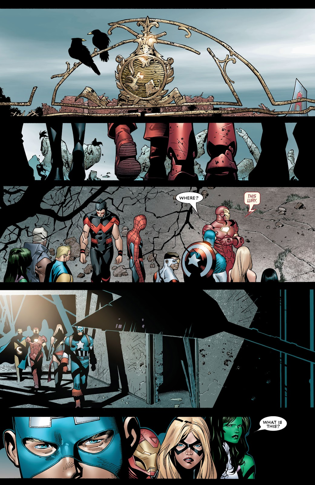 House of M (2005) Issue #8 #8 - English 19