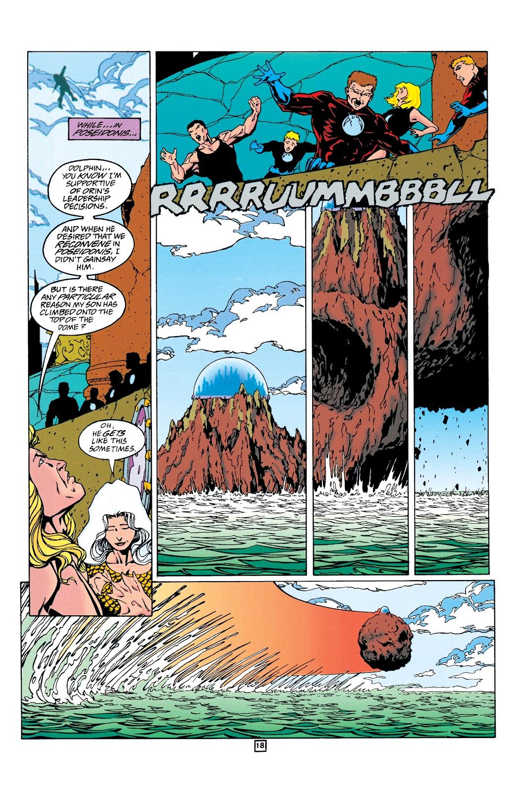 Aquaman (1994) Issue #24 #30 - English 19