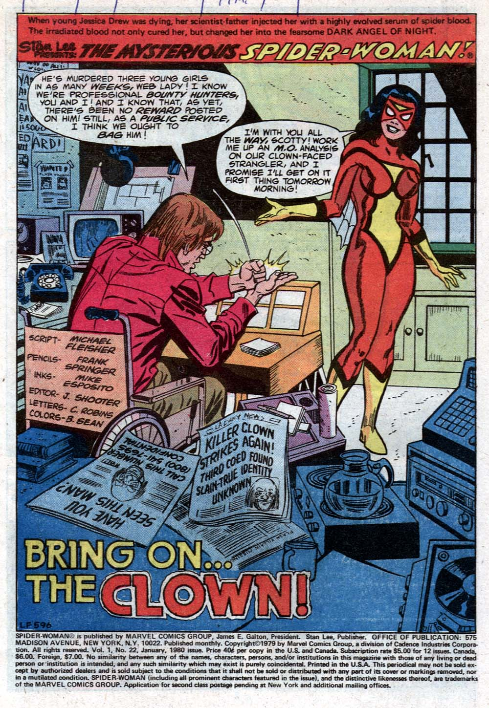Spider-Woman (1978) Issue #22 #22 - English 2