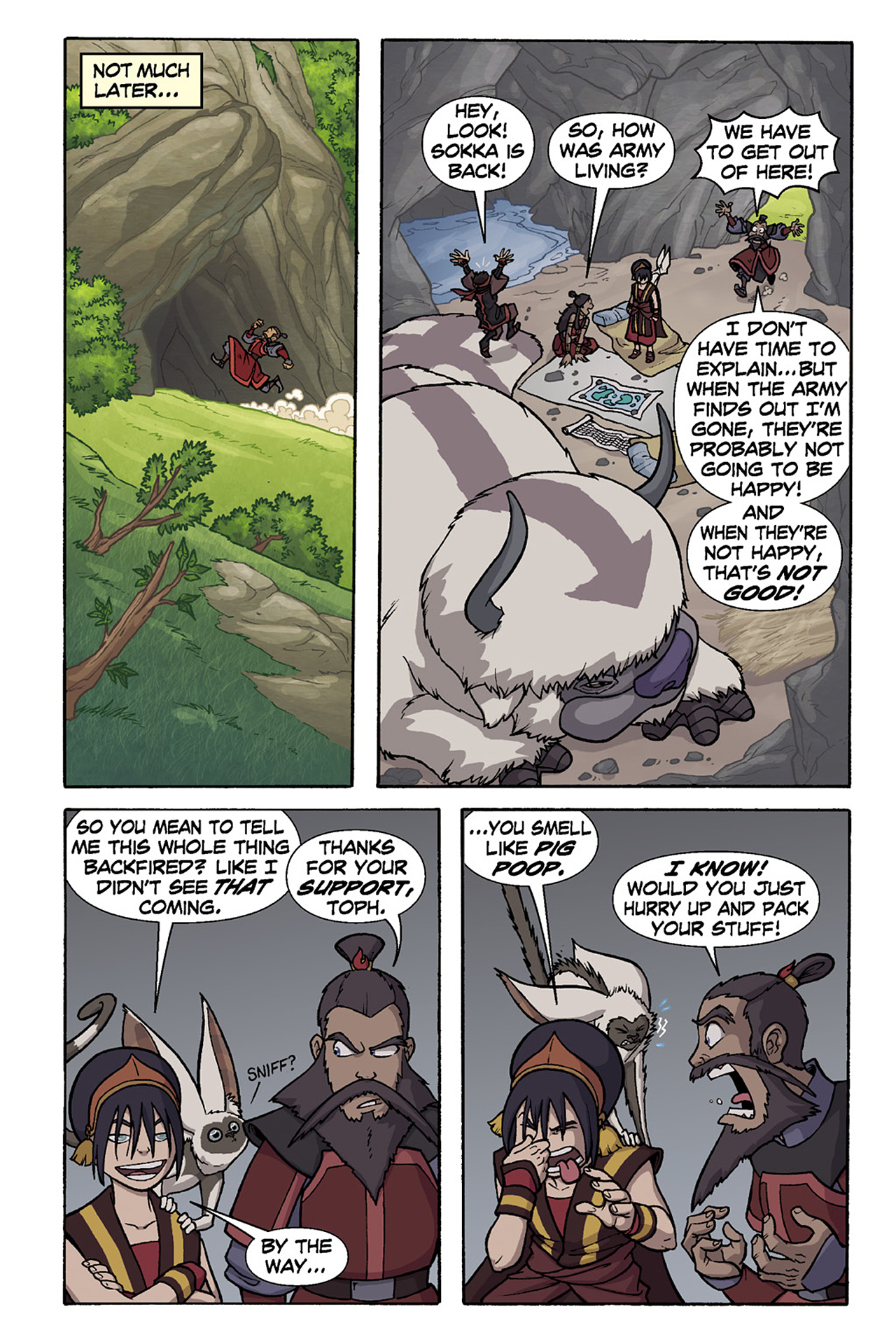 Nickelodeon Avatar: The Last Airbender - The Lost Adventures chap full pic 132