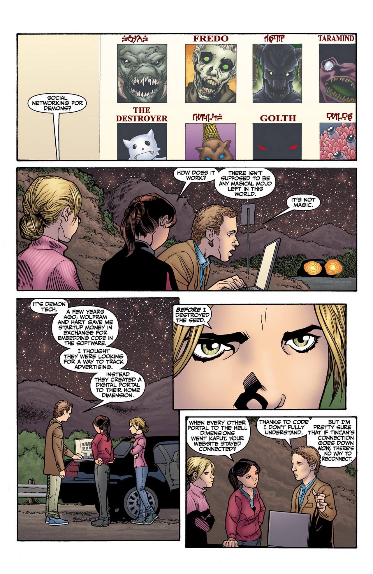 Read online Buffy the Vampire Slayer Season Nine comic -  Issue #12 - 6