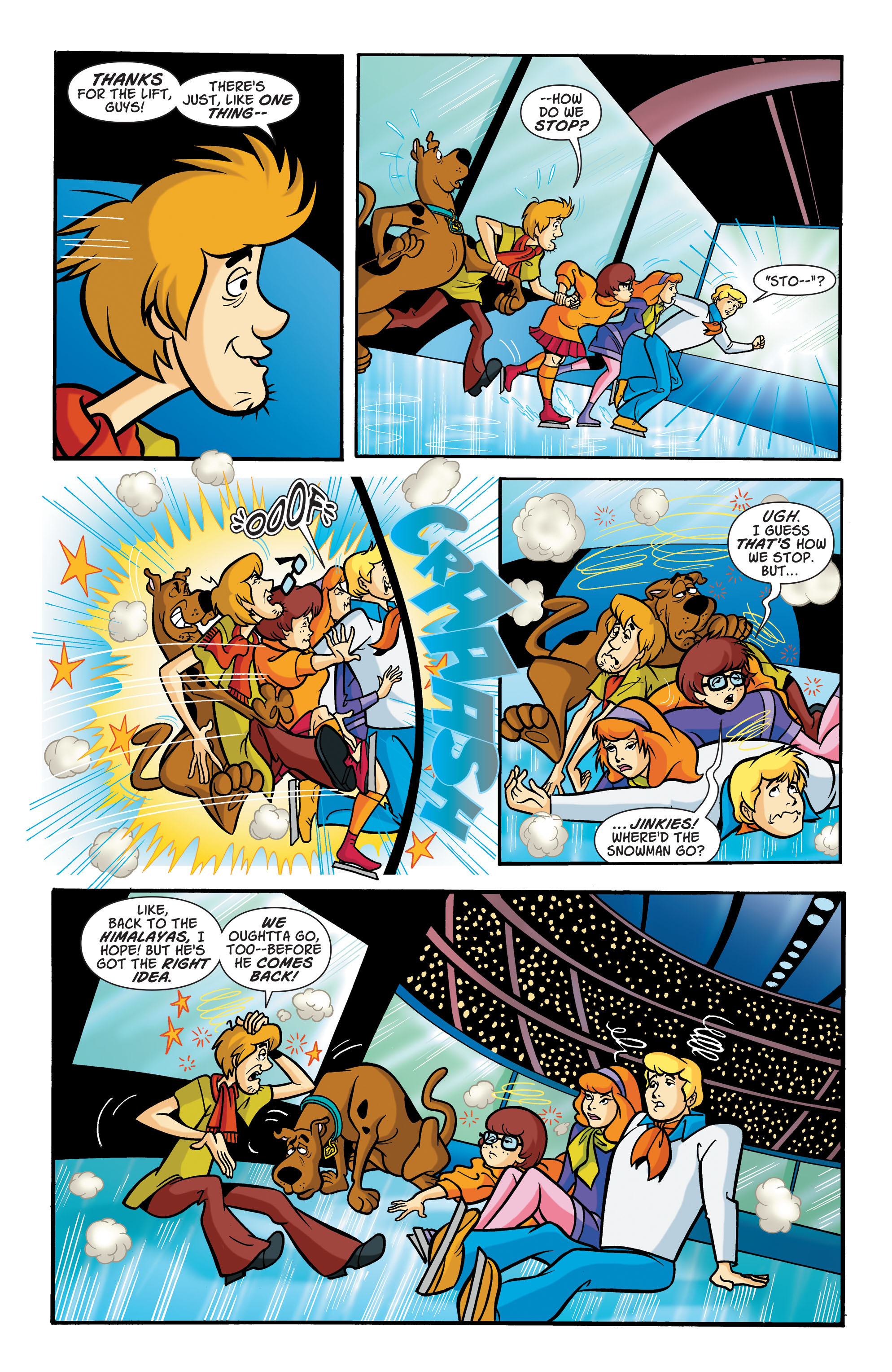 Read online Scooby-Doo: Where Are You? comic -  Issue #68 - 7