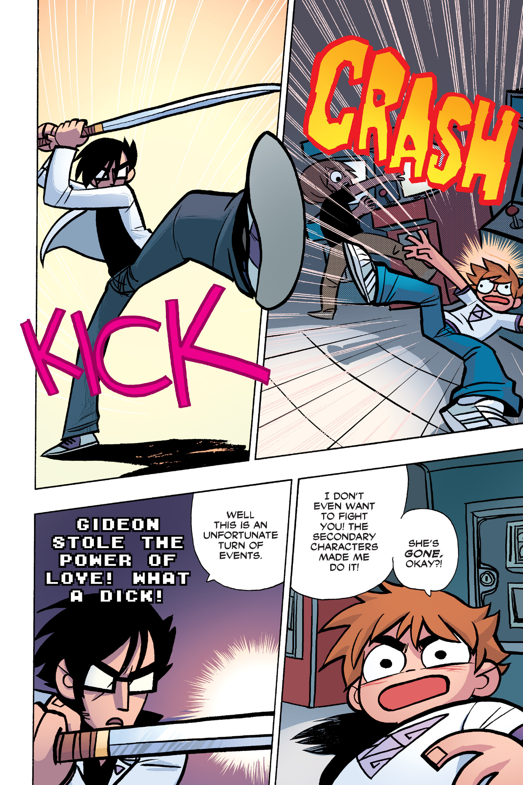 Read online Scott Pilgrim comic -  Issue #6 - 123