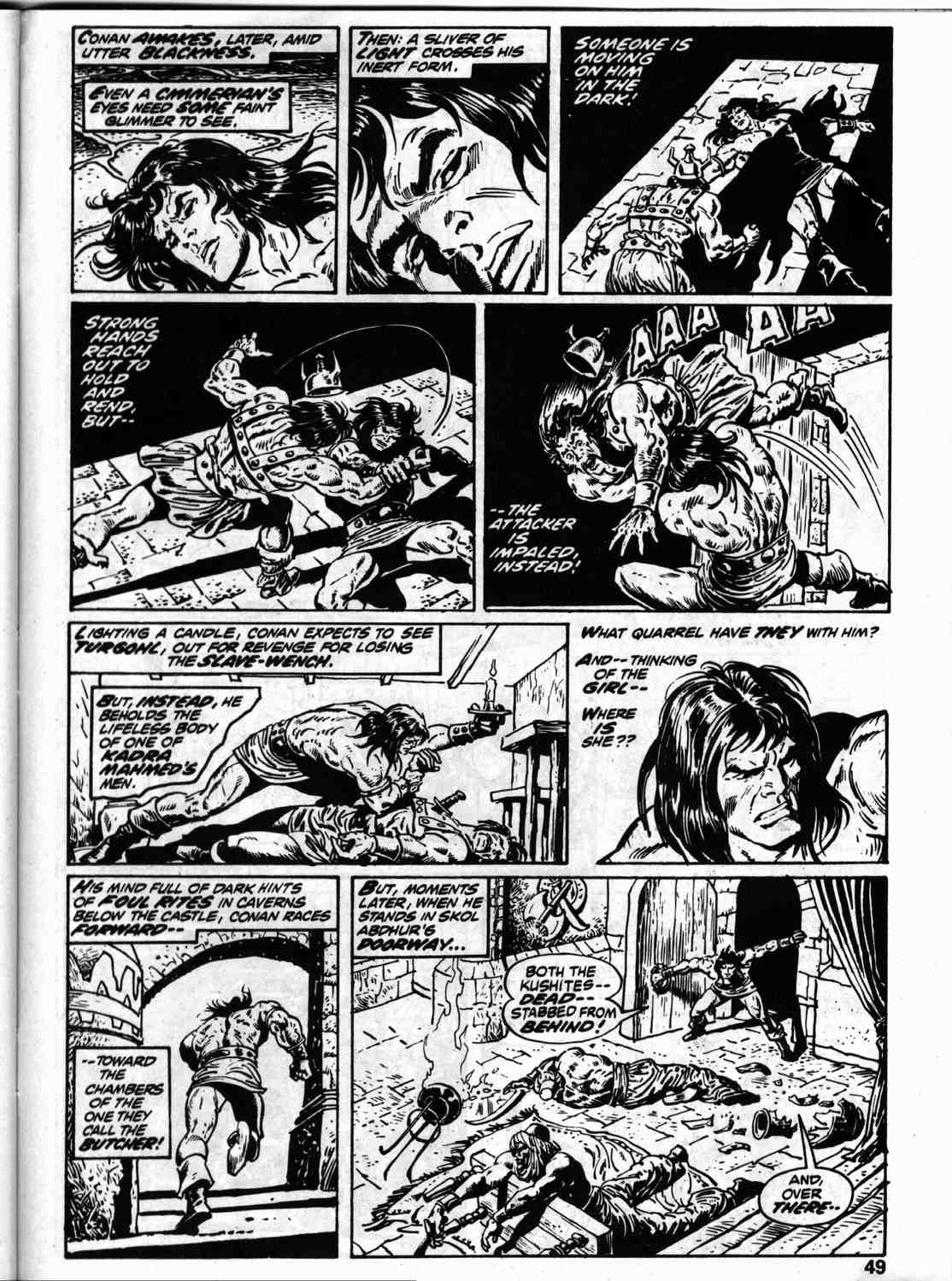 The Savage Sword Of Conan Issue #59 #60 - English 56