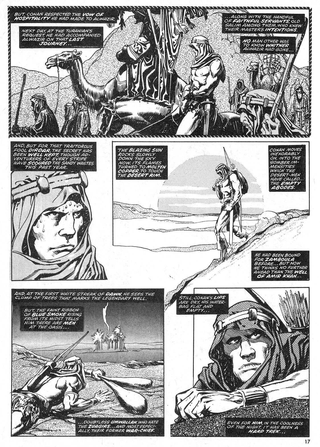 The Savage Sword Of Conan Issue #28 #29 - English 17