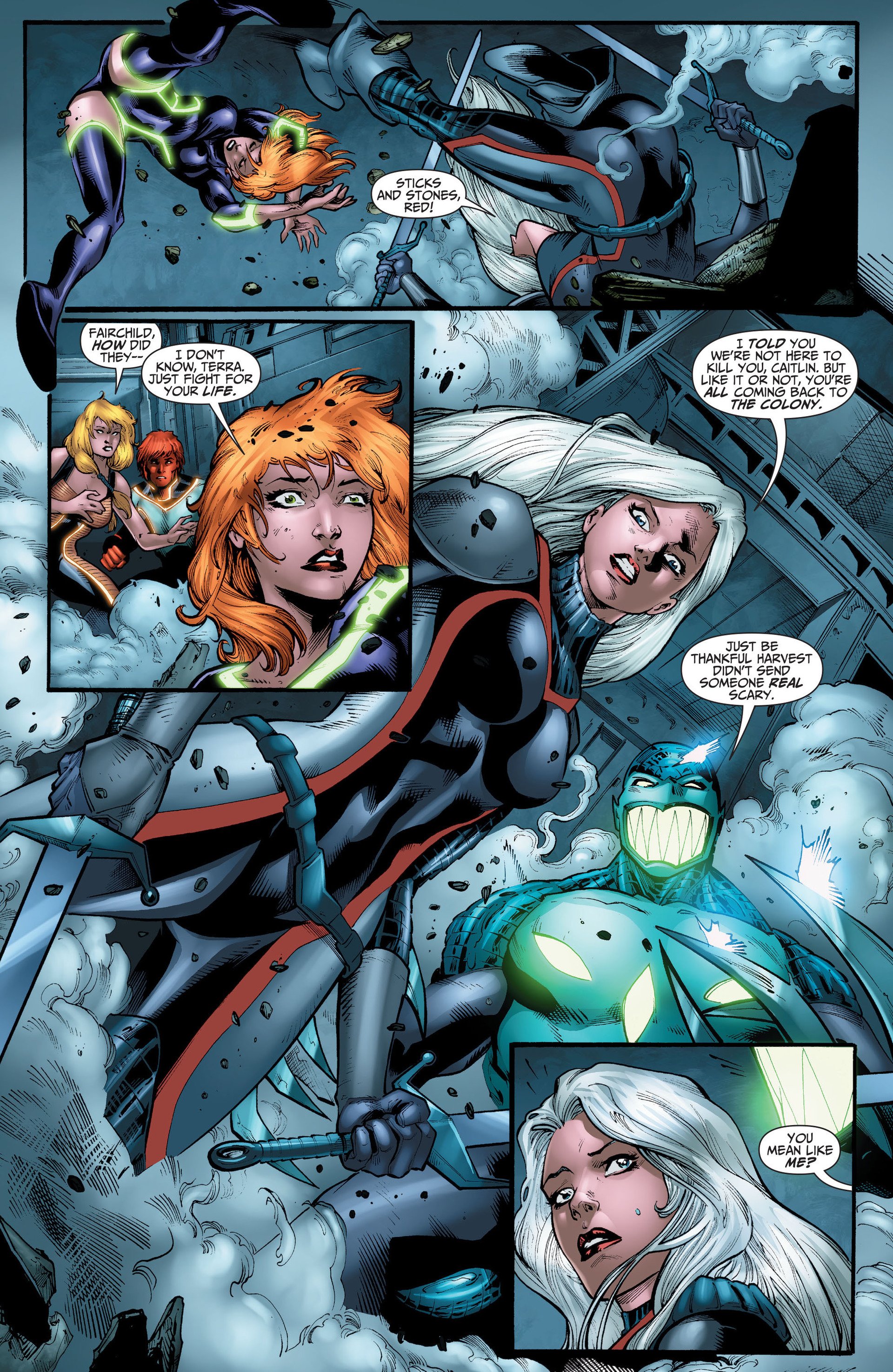 Read online The Ravagers comic -  Issue #11 - 9