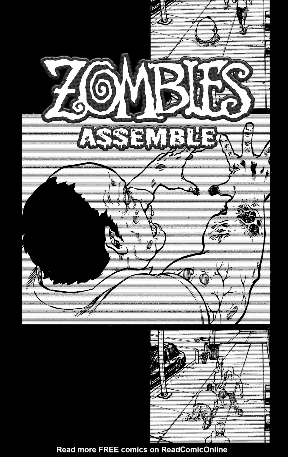 Zombies Assemble Issue #1 Page 3