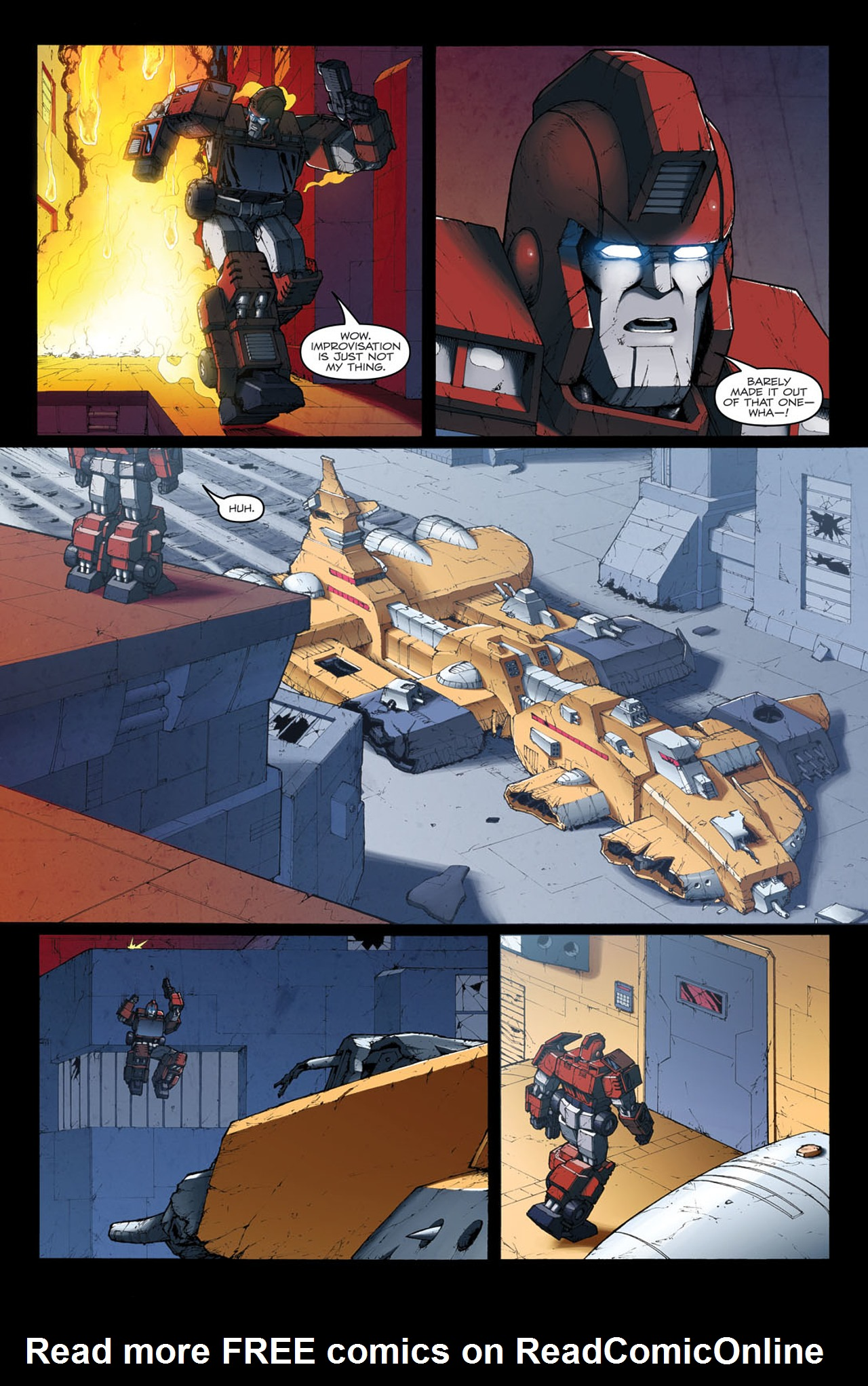 Read online The Transformers: Ironhide comic -  Issue #4 - 8