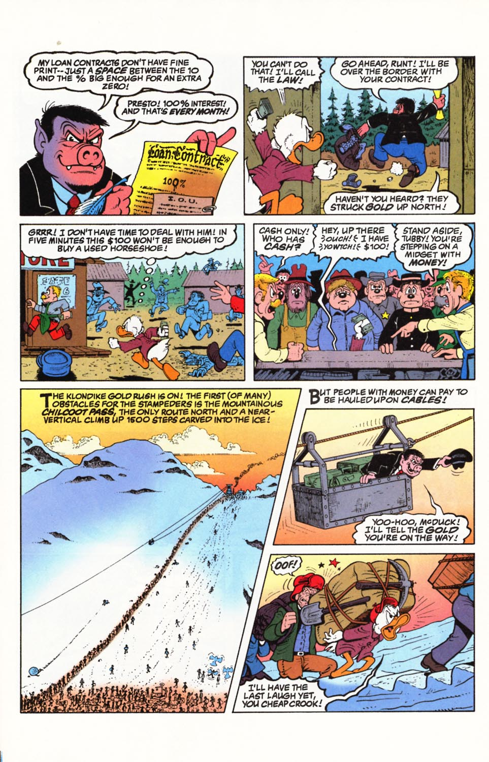Uncle Scrooge (1953) Issue #292 #292 - English 6