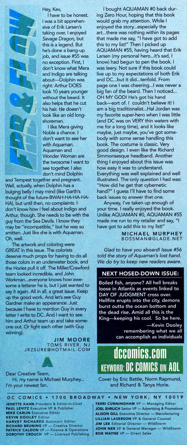 Aquaman (1994) Issue #60 #66 - English 24
