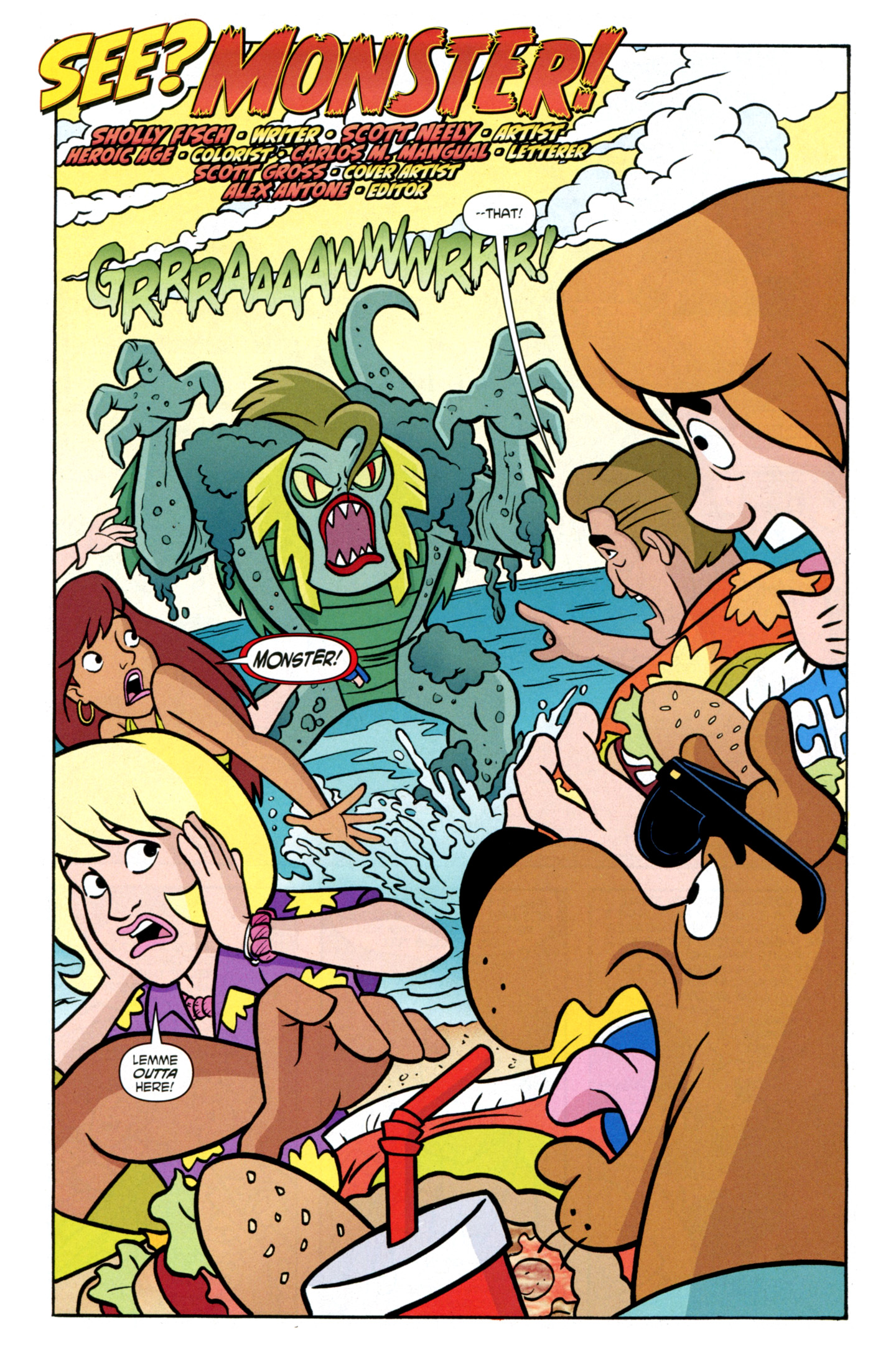 Read online Scooby-Doo: Where Are You? comic -  Issue #27 - 4