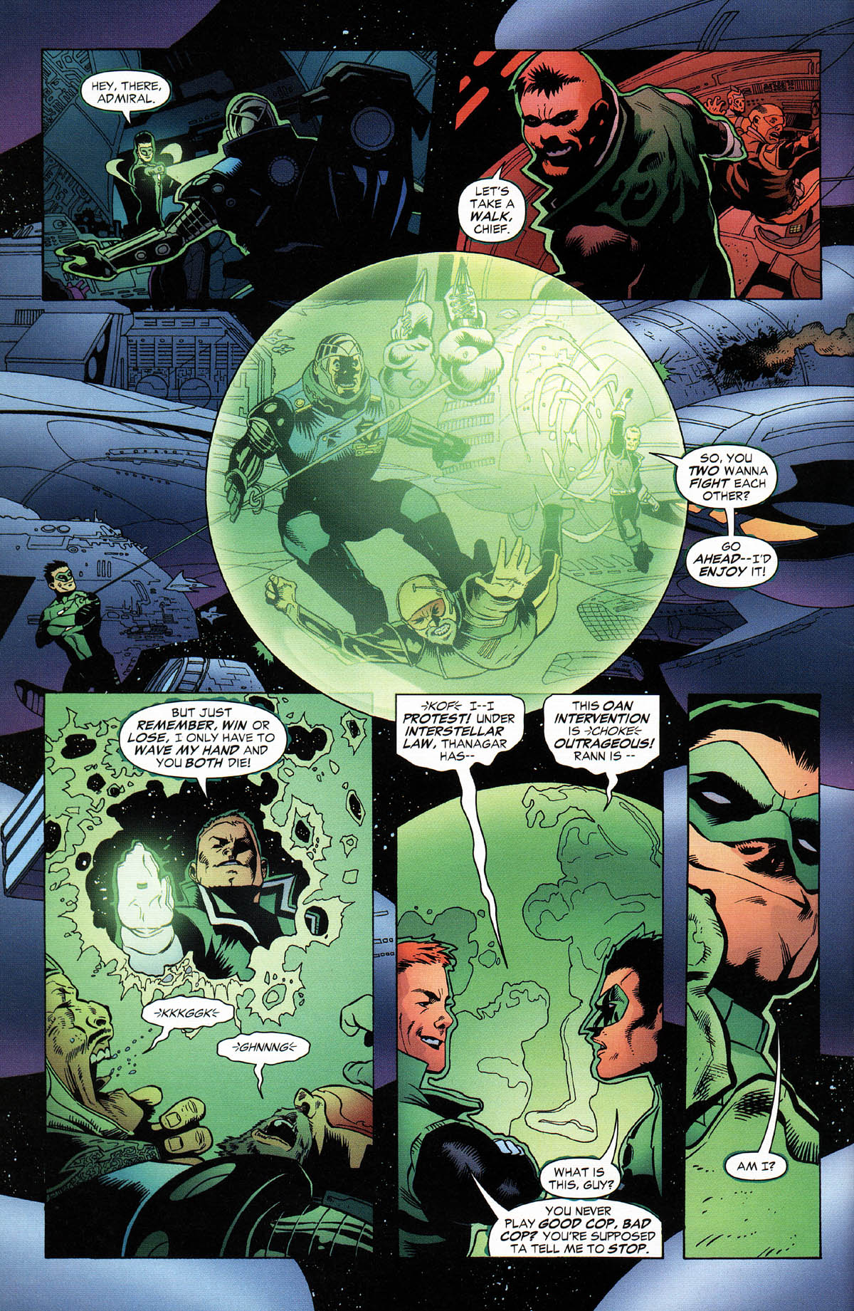 Read online Green Lantern Corps: Recharge comic -  Issue #2 - 9