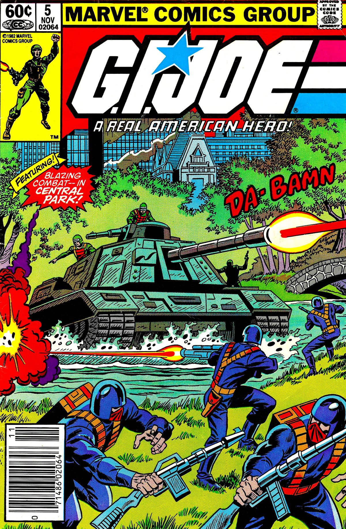 G.I. Joe: A Real American Hero 5 Page 1