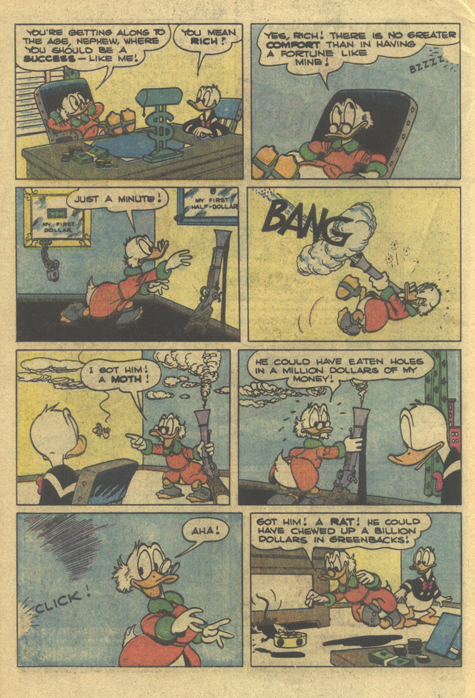 Uncle Scrooge (1953) Issue #195 #195 - English 4
